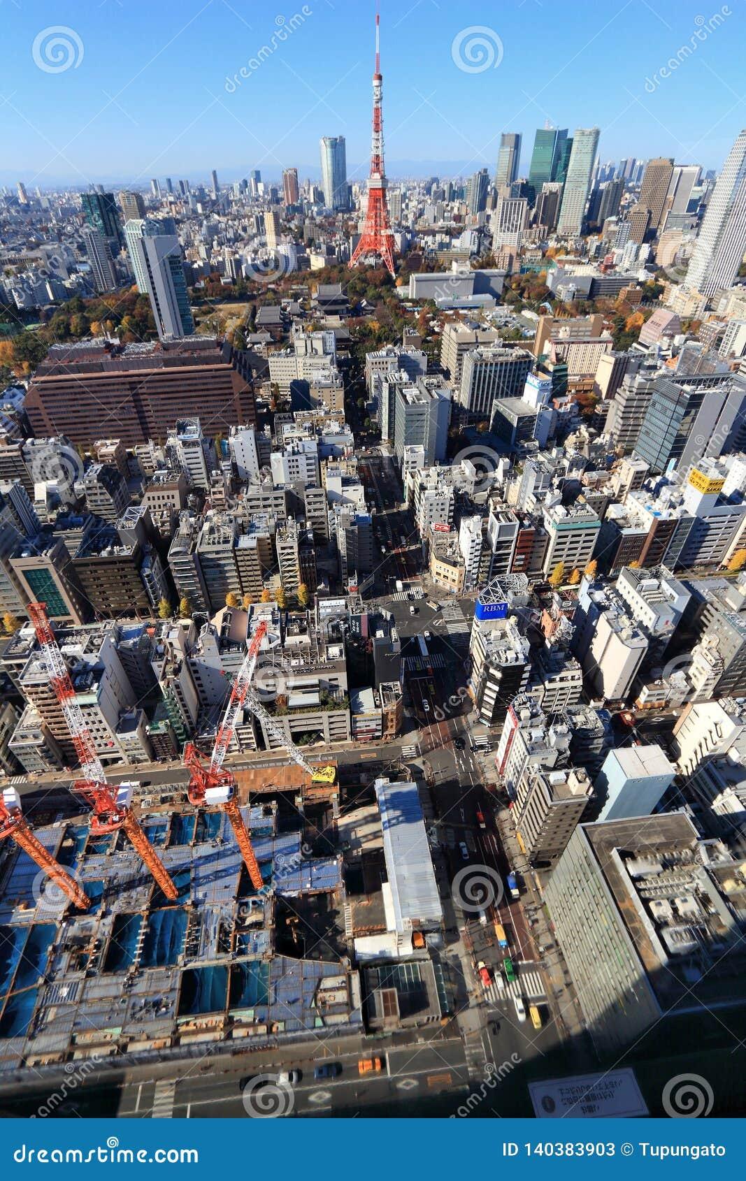 Mieszkania architektury budynku budynków betonowego szklanego wysokiego Japan nowożytnego mieszkaniowego wzrosta stalowy Tokyo wi