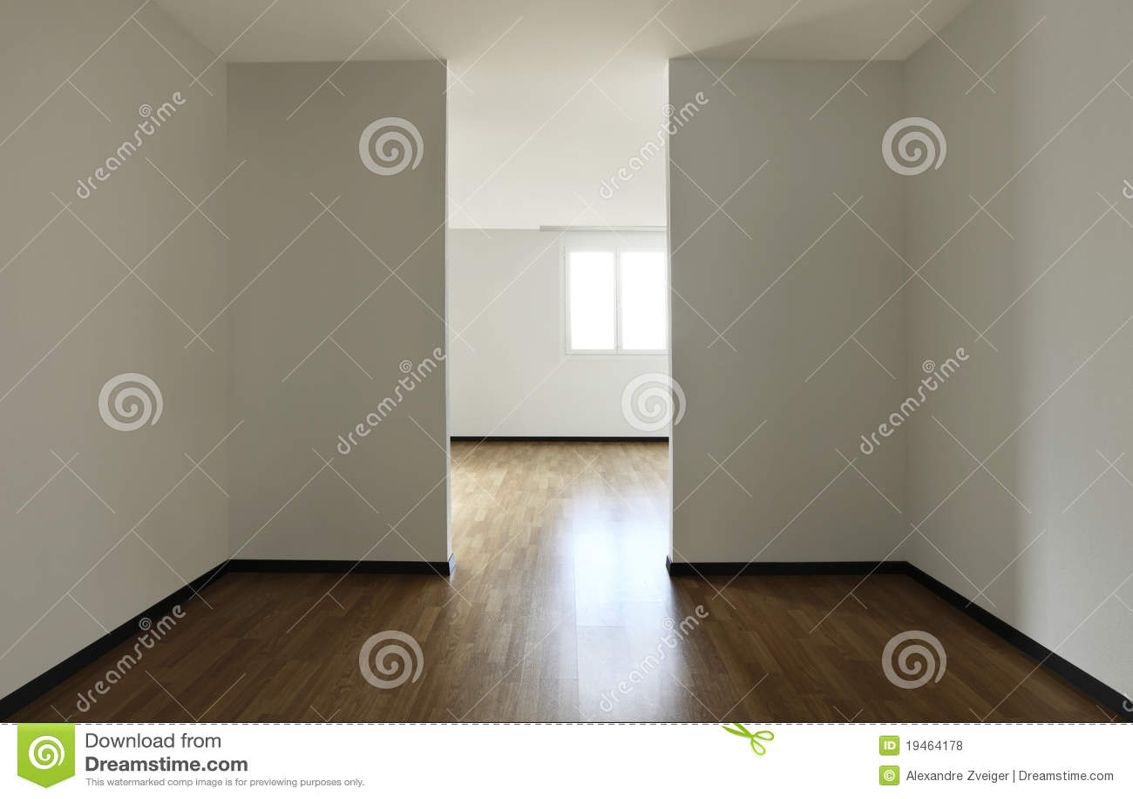 Mieszkanie pokój pusty nowy