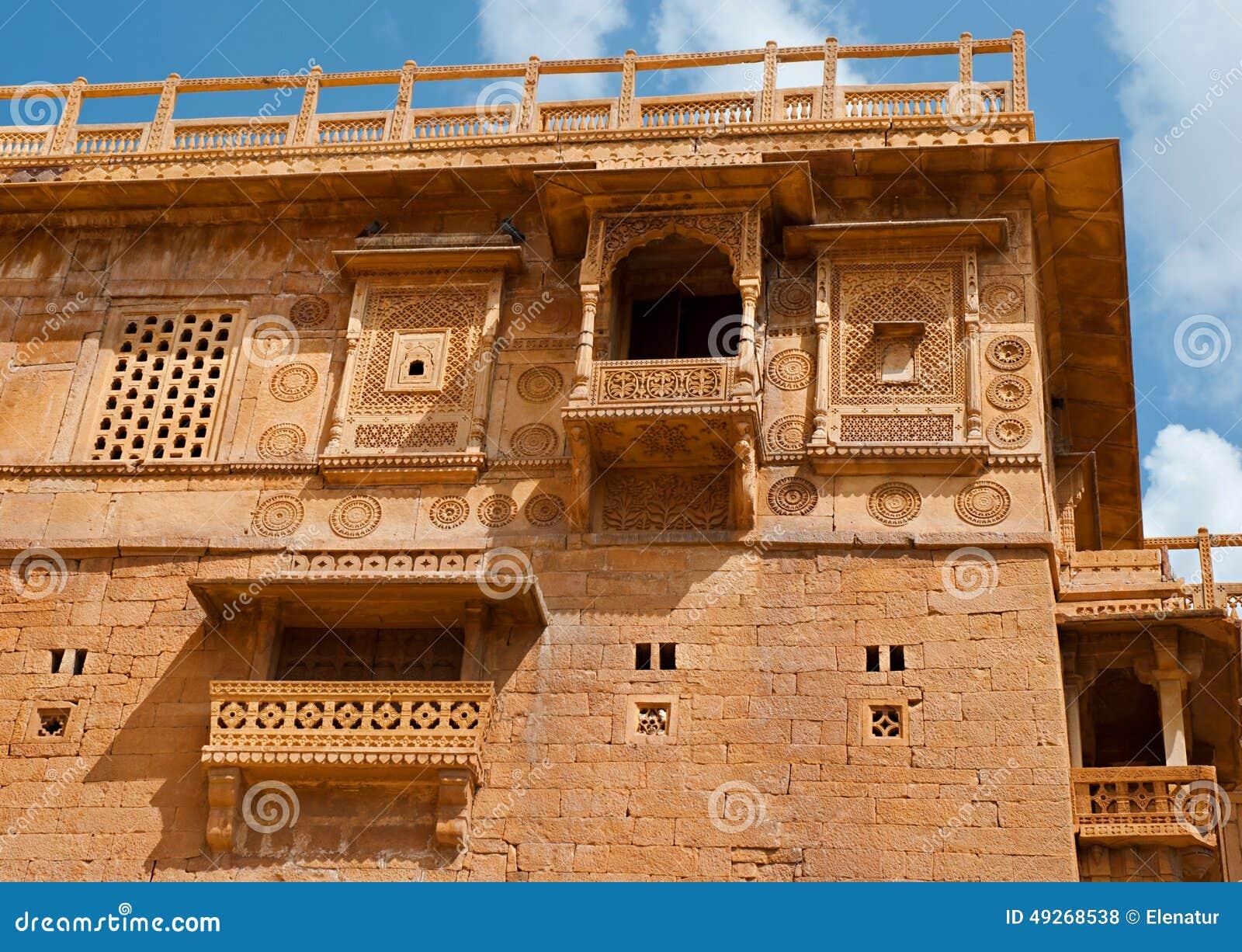 Mieszkaniowy dom na Jaisalmer forcie, Jaisalmer, India