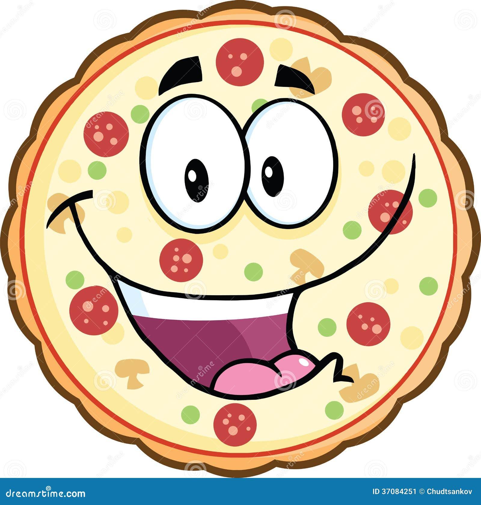 Download Śmieszny Pizzy Kreskówki Maskotki Charakter Ilustracji - Ilustracja złożonej z patrzeje, dinner: 37084251