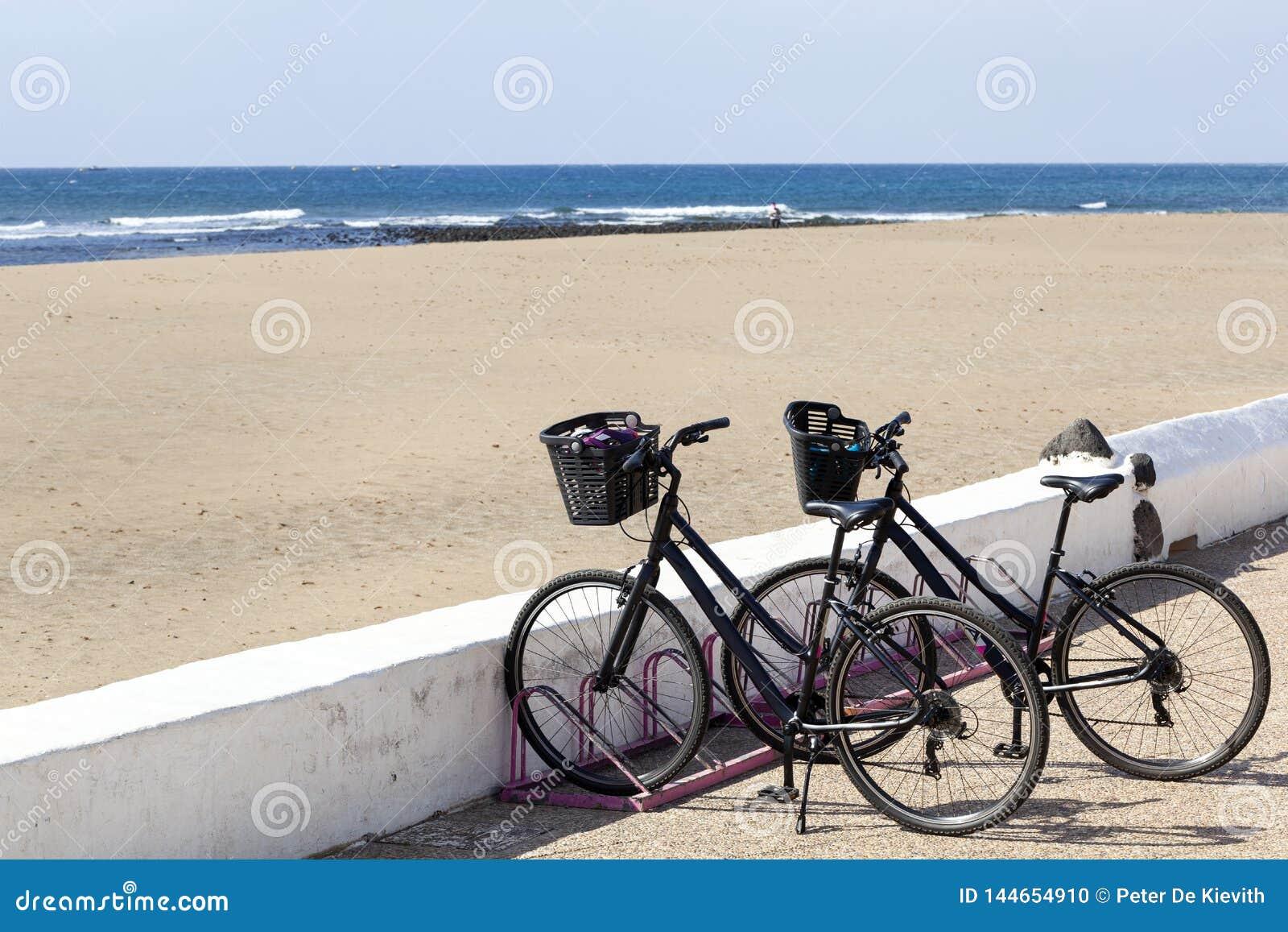 Mietfahrräder auf Lanzarote