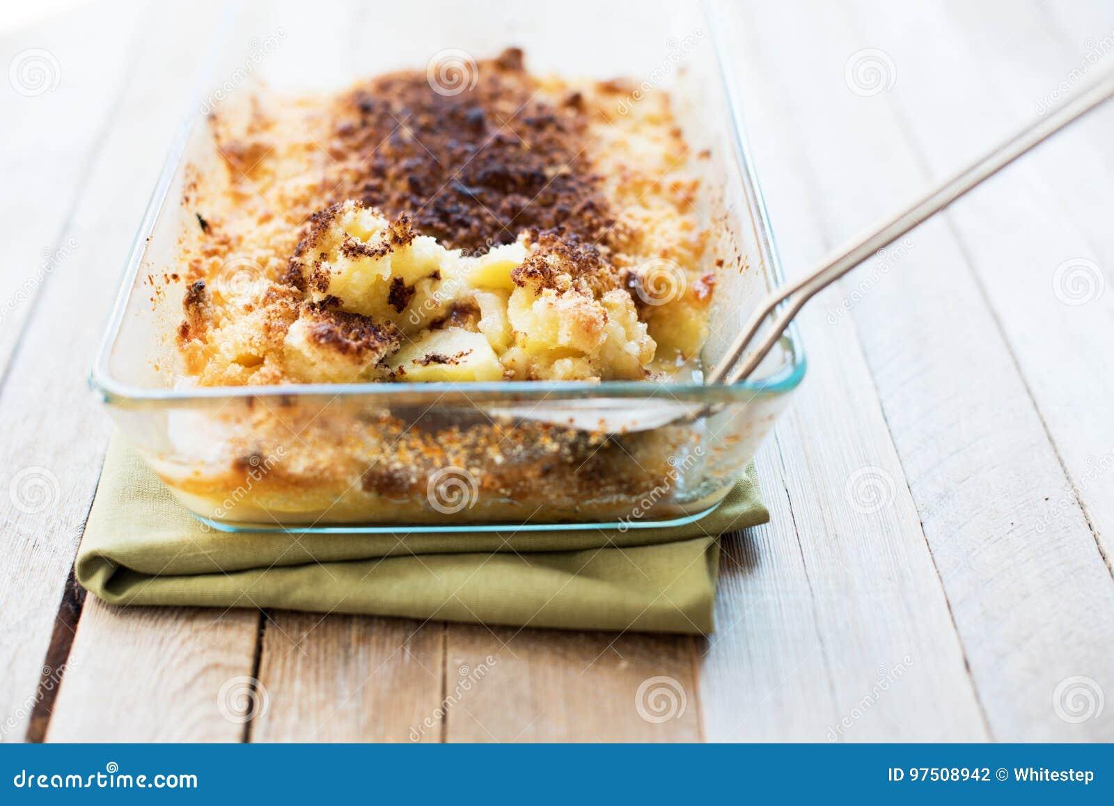 Miette croquante d Apple de farine Sugar Butter