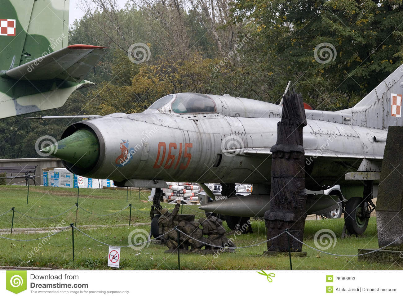 Soviet MiG fighter http://www.dreamstime.com/stock-photos-mig-21-soviet-fighter-warszawa-poland-image26966693