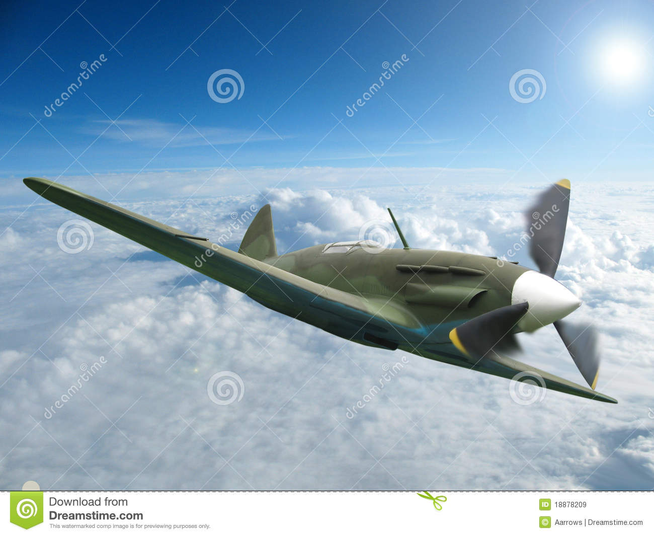 Soviet MiG fighter http://www.dreamstime.com/royalty-free-stock-images-mig-3-soviet-ww2-fighter-image18878209
