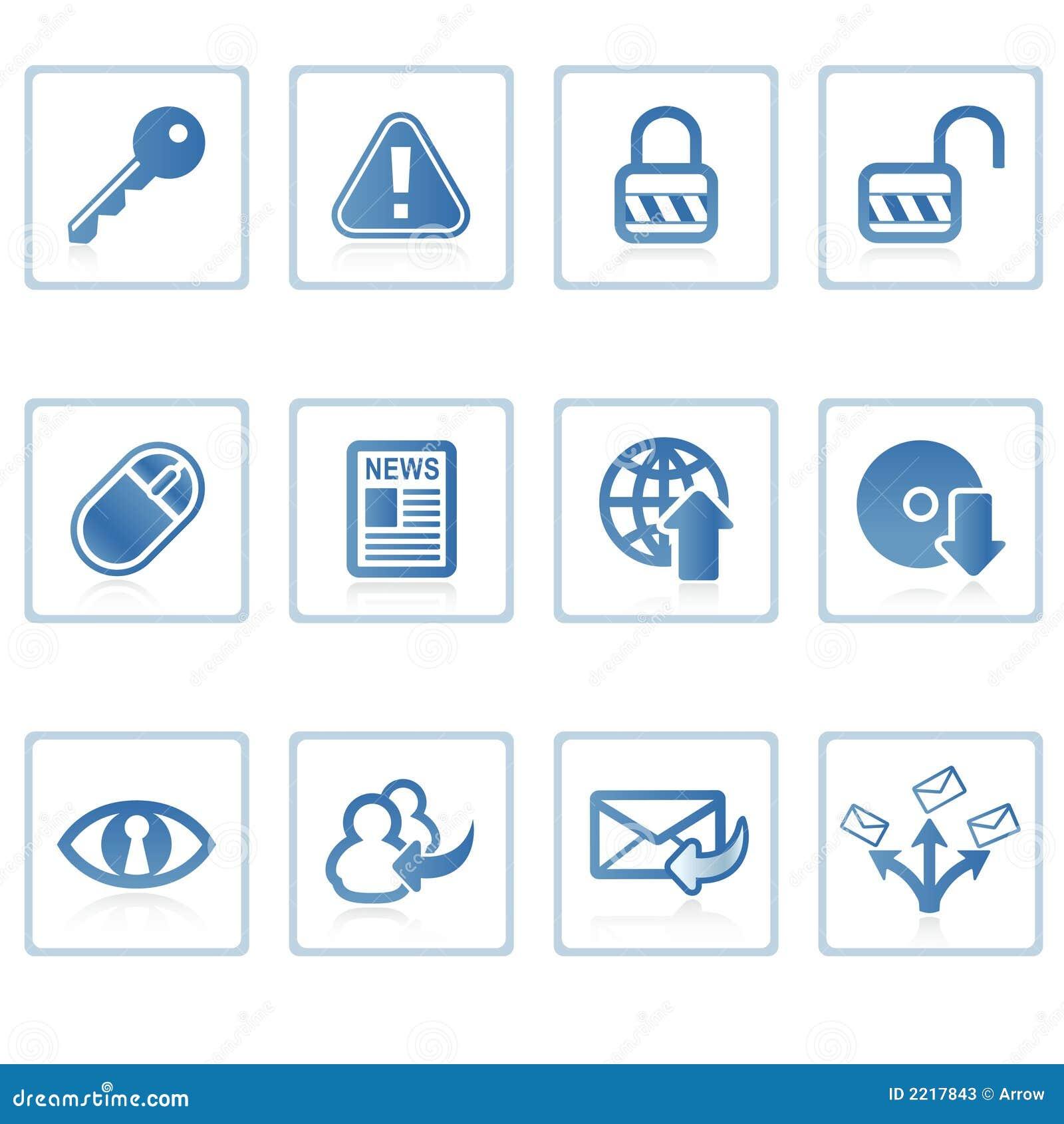 Mig symbolsinternetsäkerhet