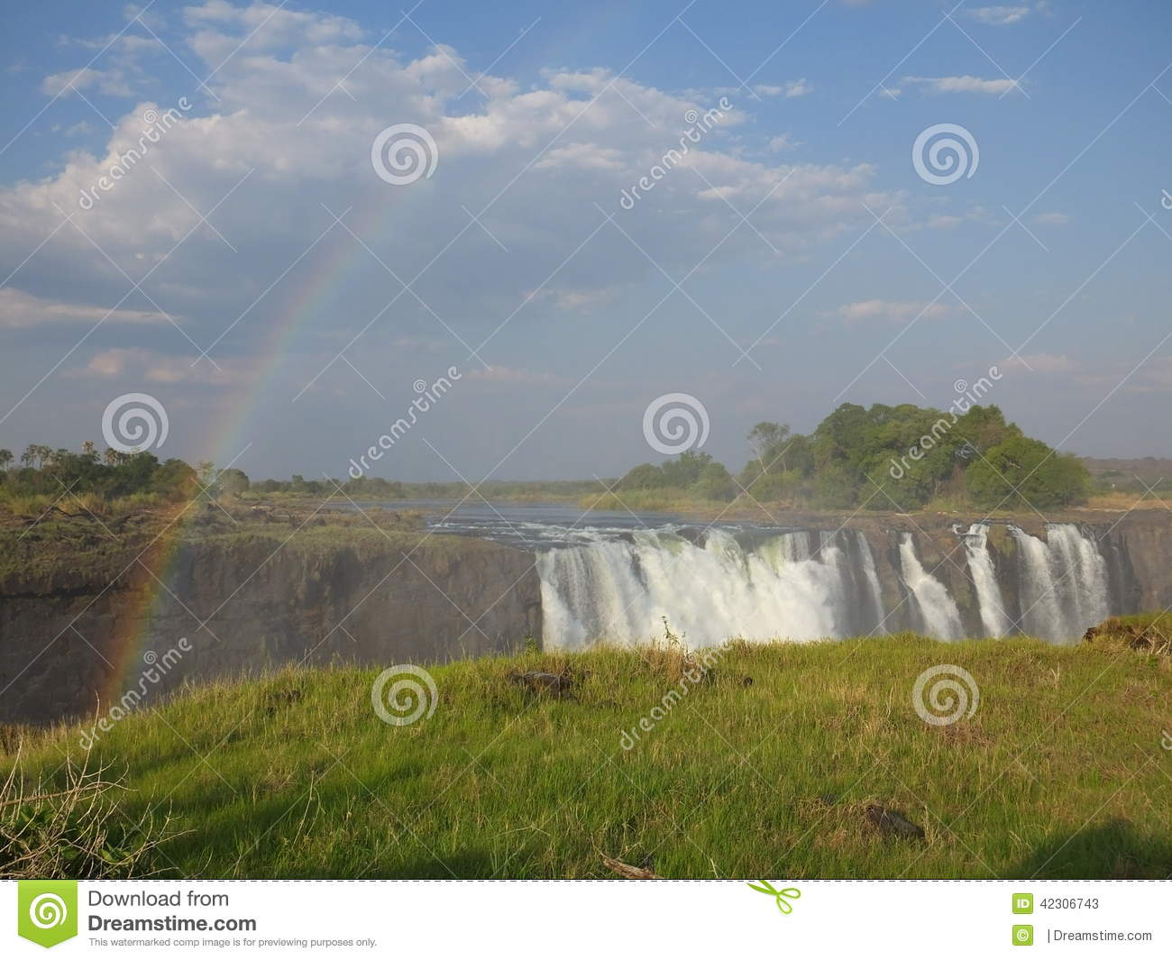 The Mighty Victoria Falls between Zambia and Zimbabwe