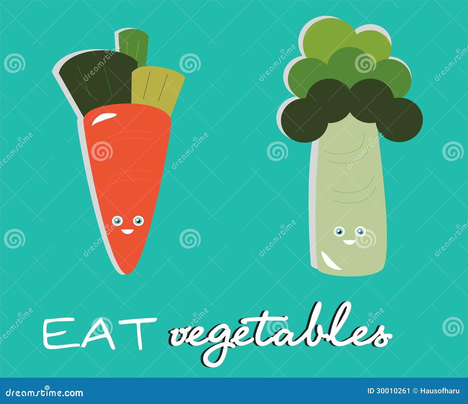 Mangez les légumes
