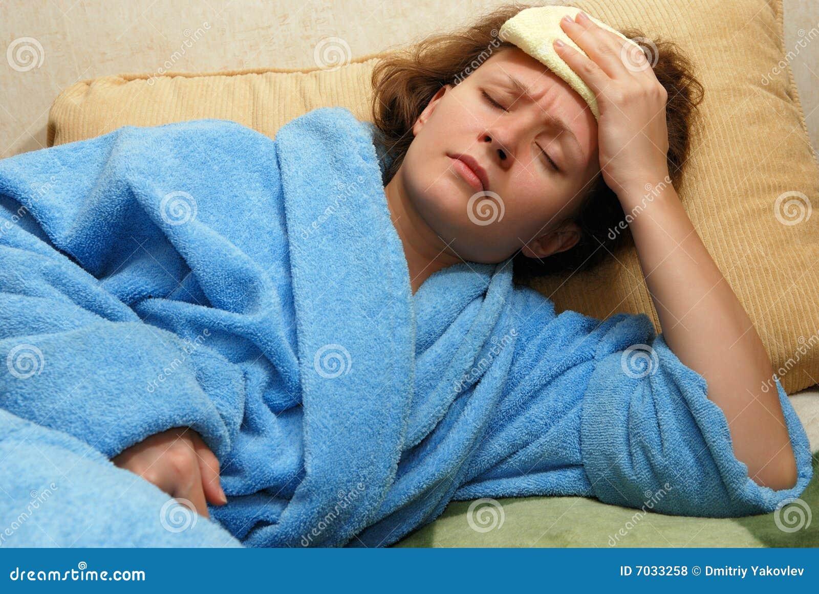 Migreny kobiety potomstwa