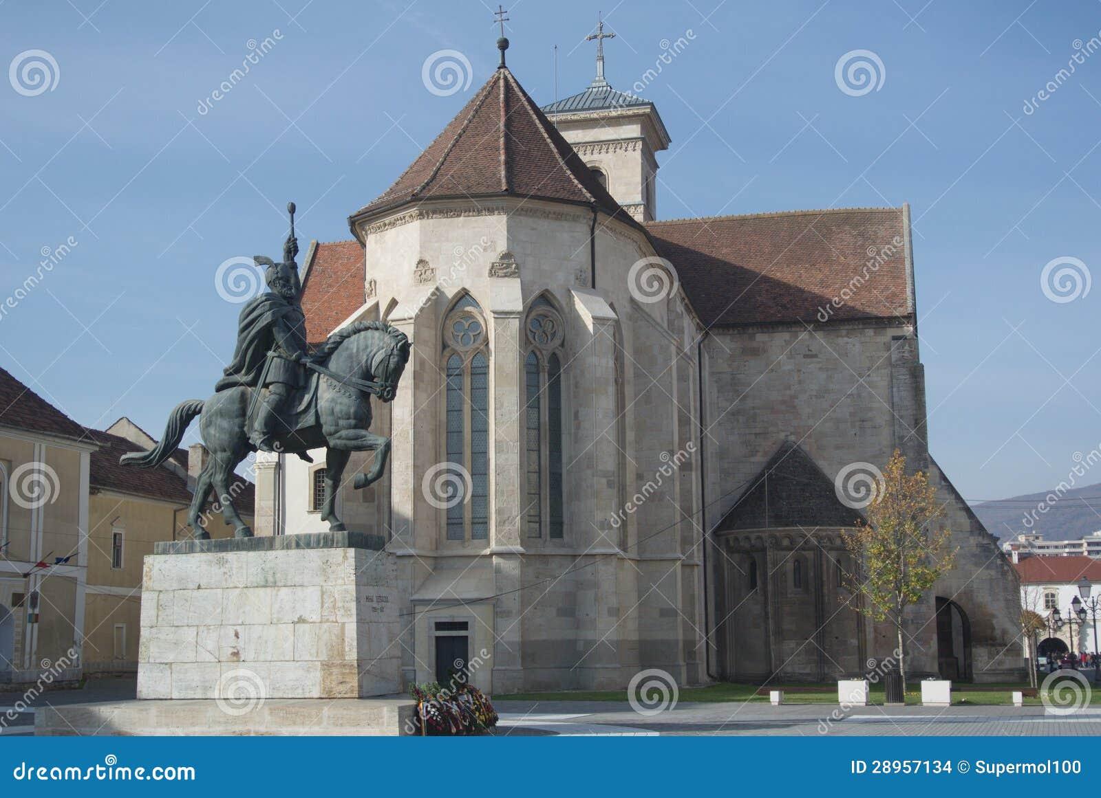Mihai Viteazul zabytek, Alba Iulia