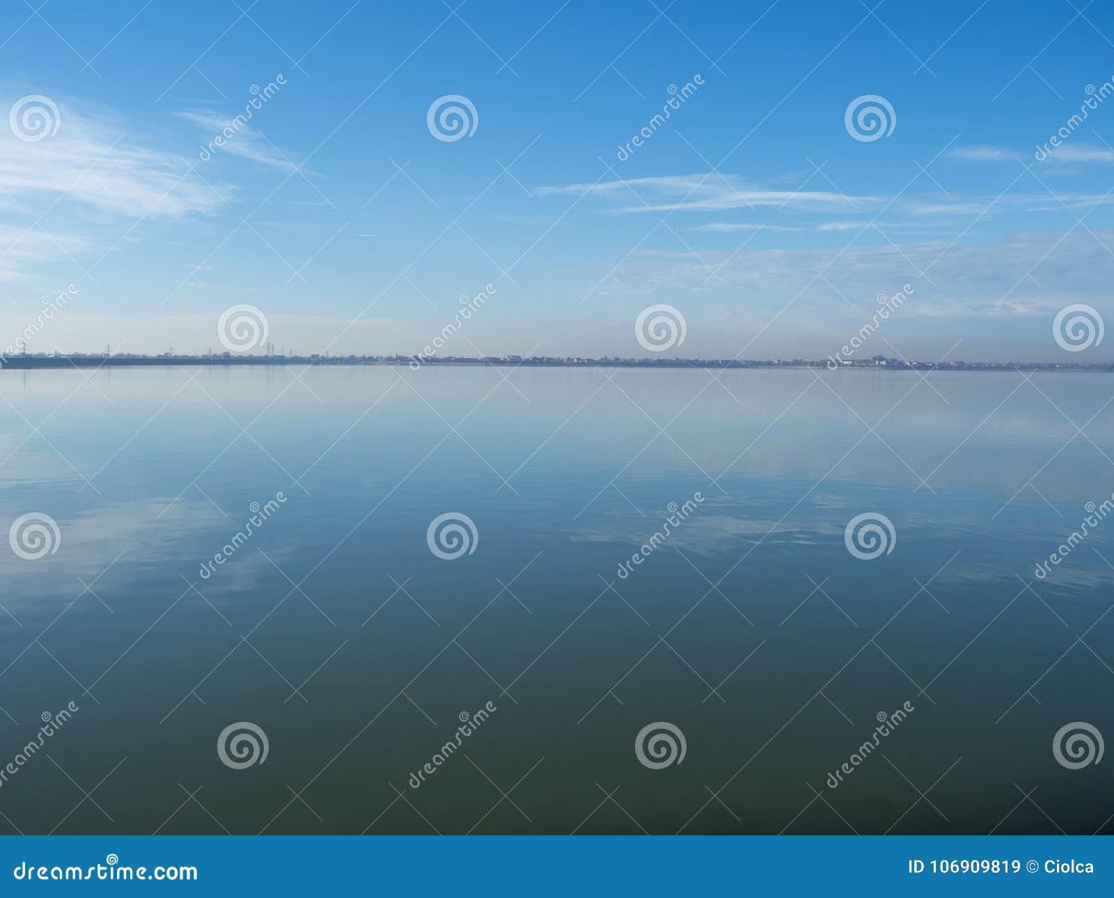 Mihailesti jezioro blisko Bucharest, Rumunia