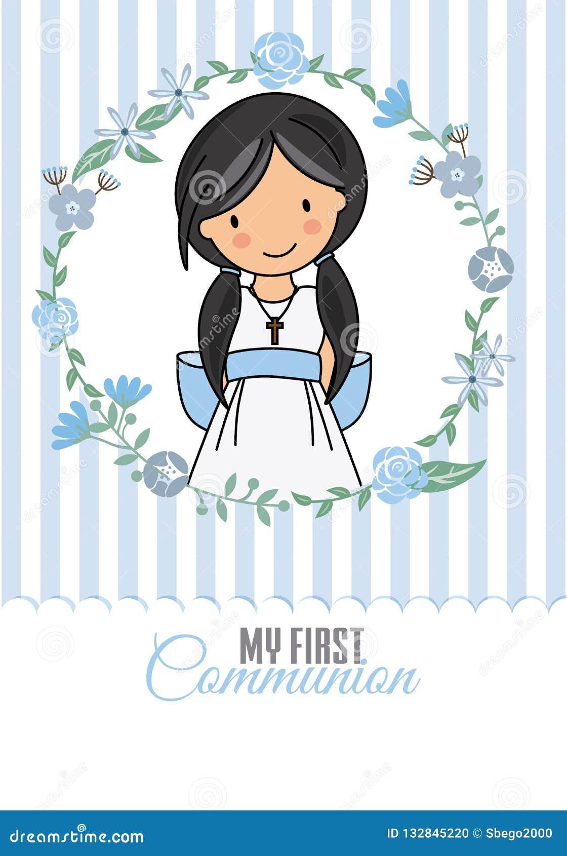 Mijn eerste kerkgemeenschapmeisje
