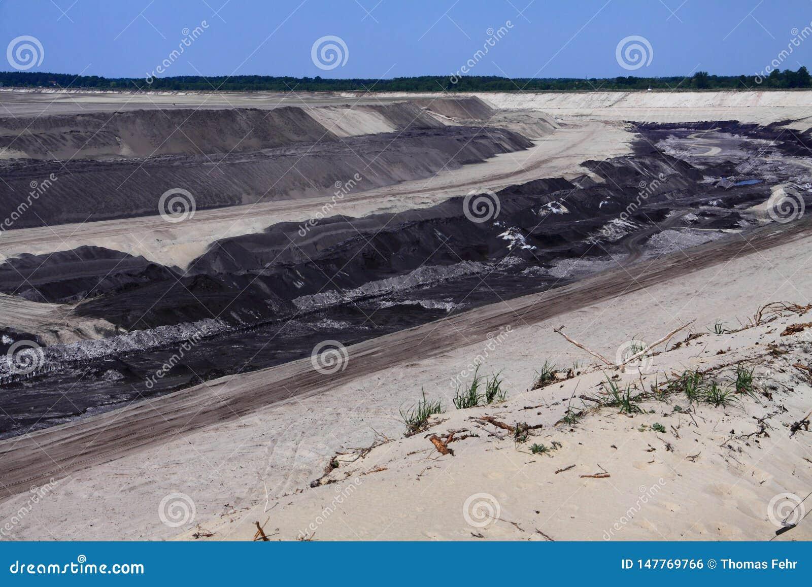 Mijnbouw in Cottbus