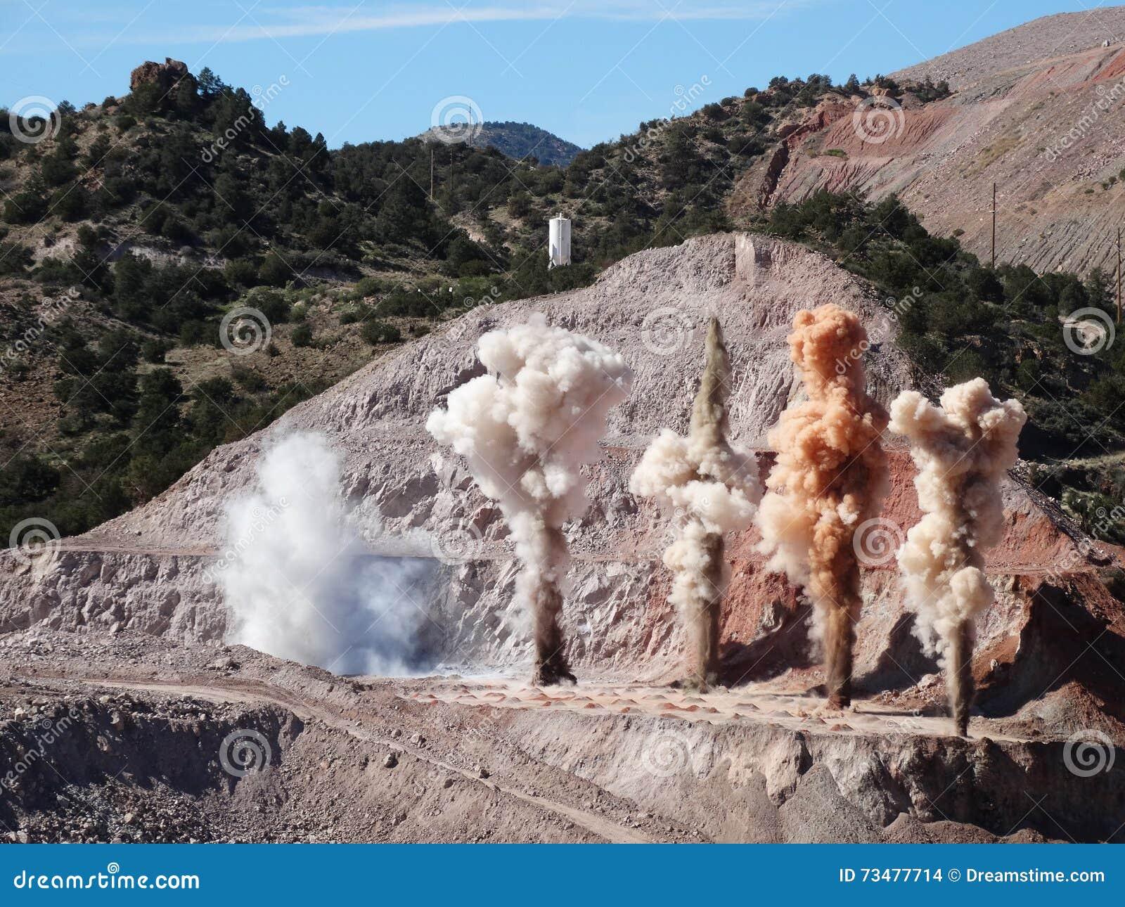 Mijnbouwontploffing