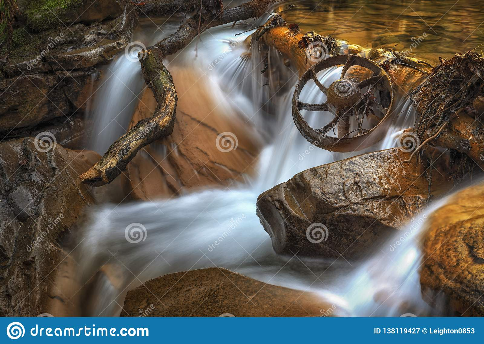 Mijnbouwwagenwiel