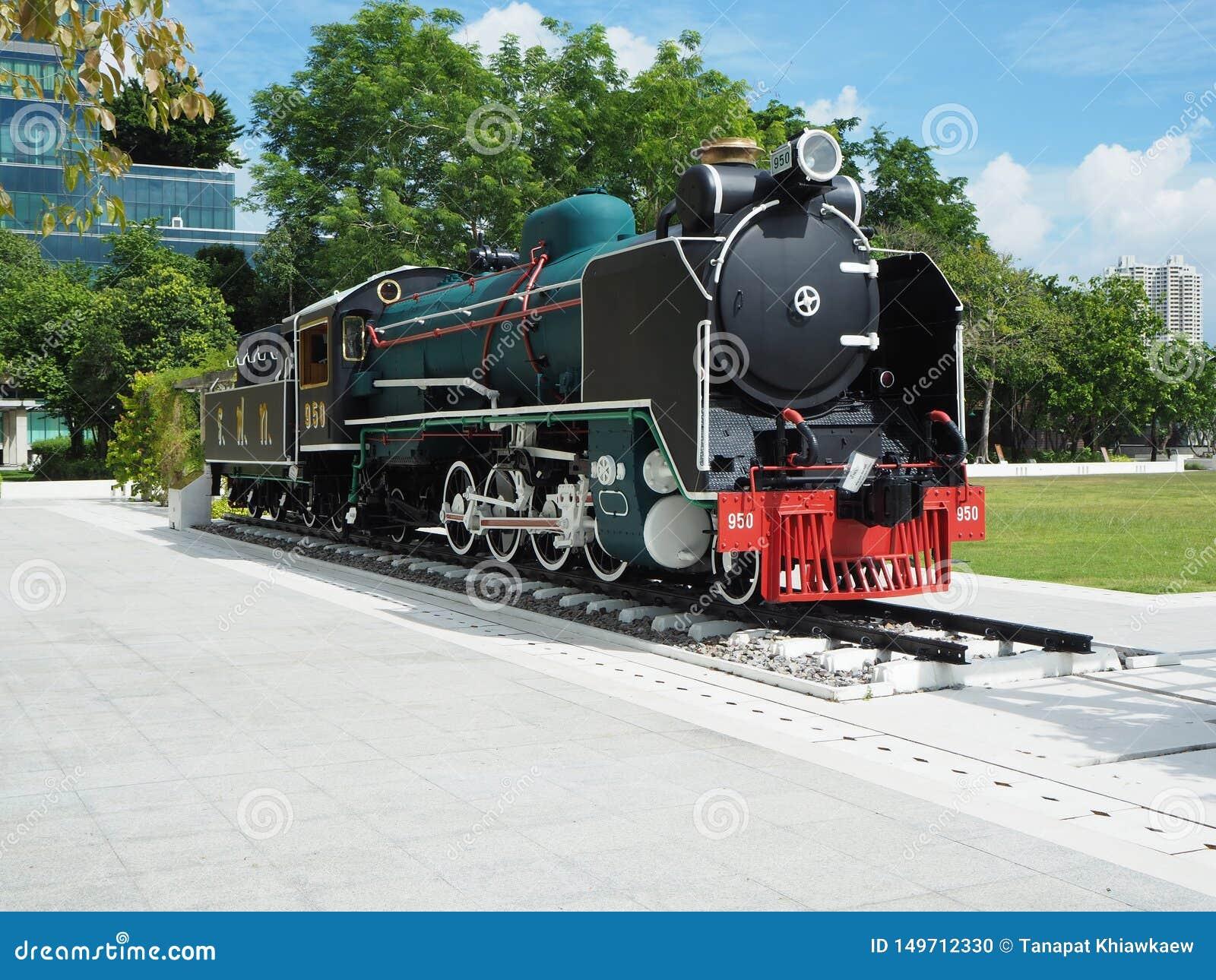 Mikado在Siriraj医院的蒸汽机车