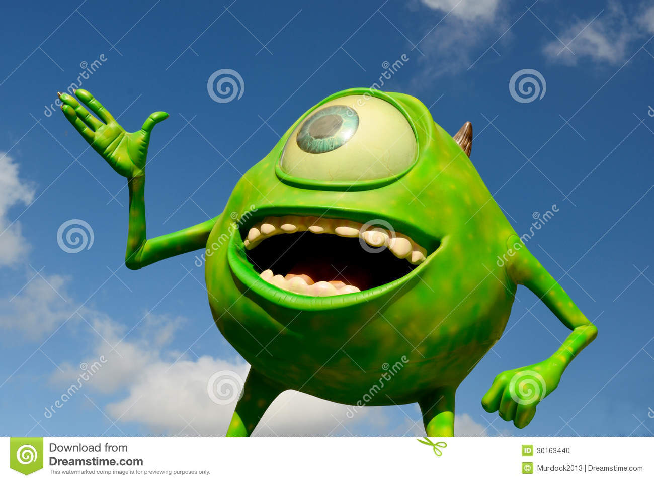 Disney Mike from Monsters inc. incorporated