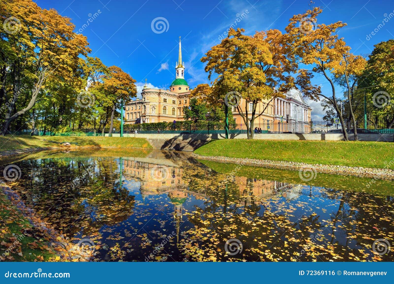 Mikhailovsky宫殿, StPetersburg,俄罗斯