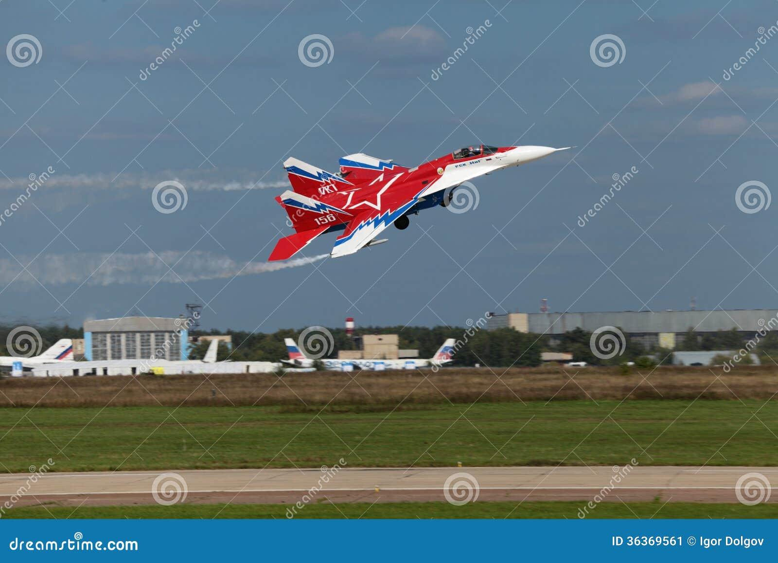 Mikoyan MiG-29 OVT editorial photo  Image of aerodrome