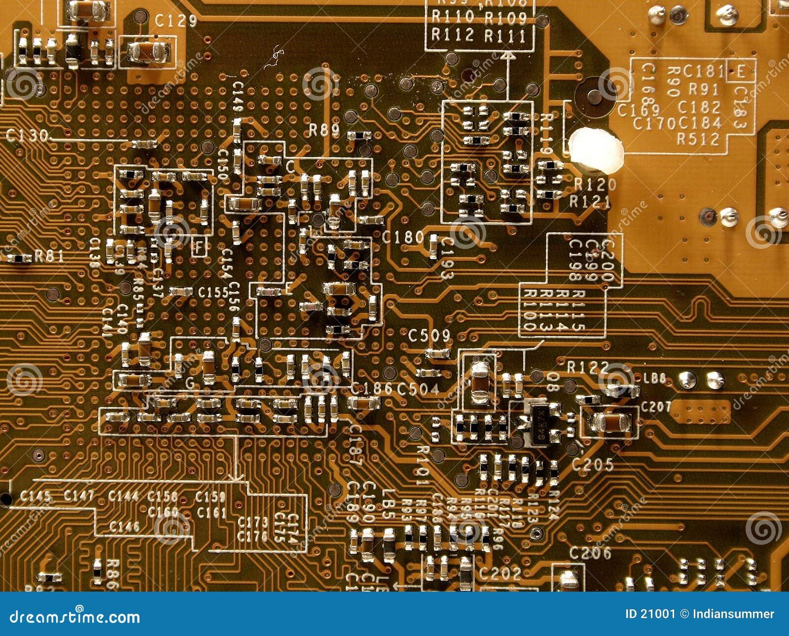 Mikrochip von videocard, II