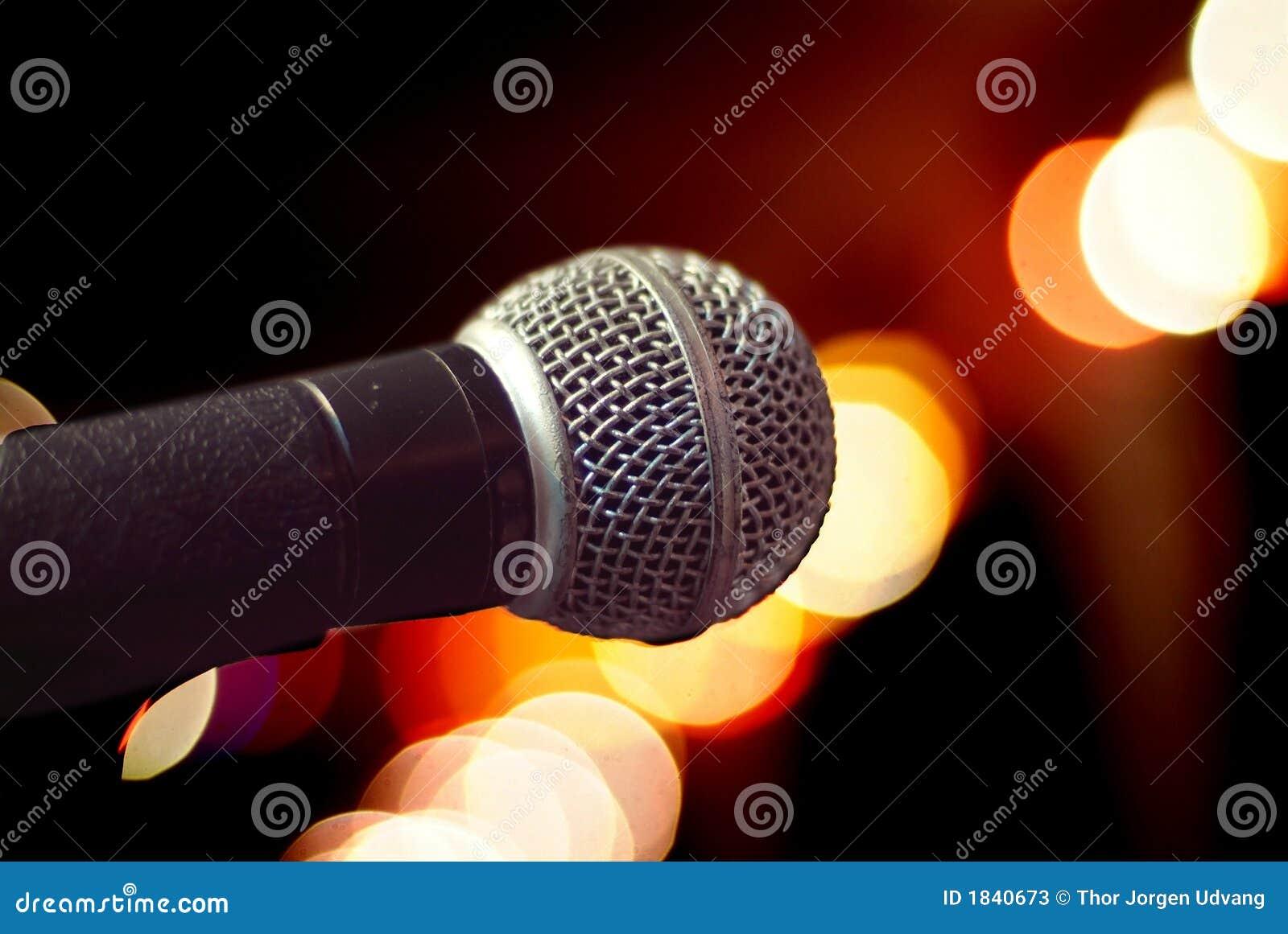Mikrofonnahaufnahme
