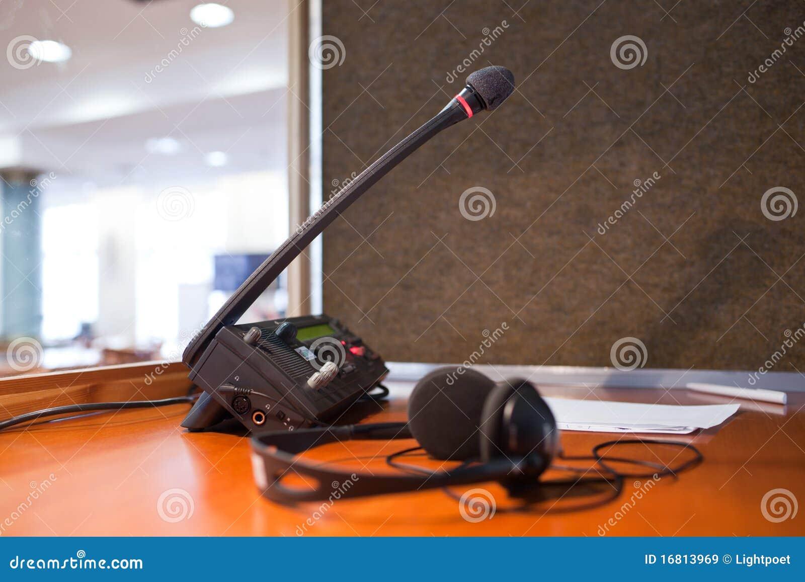 Mikrofonswitchboard