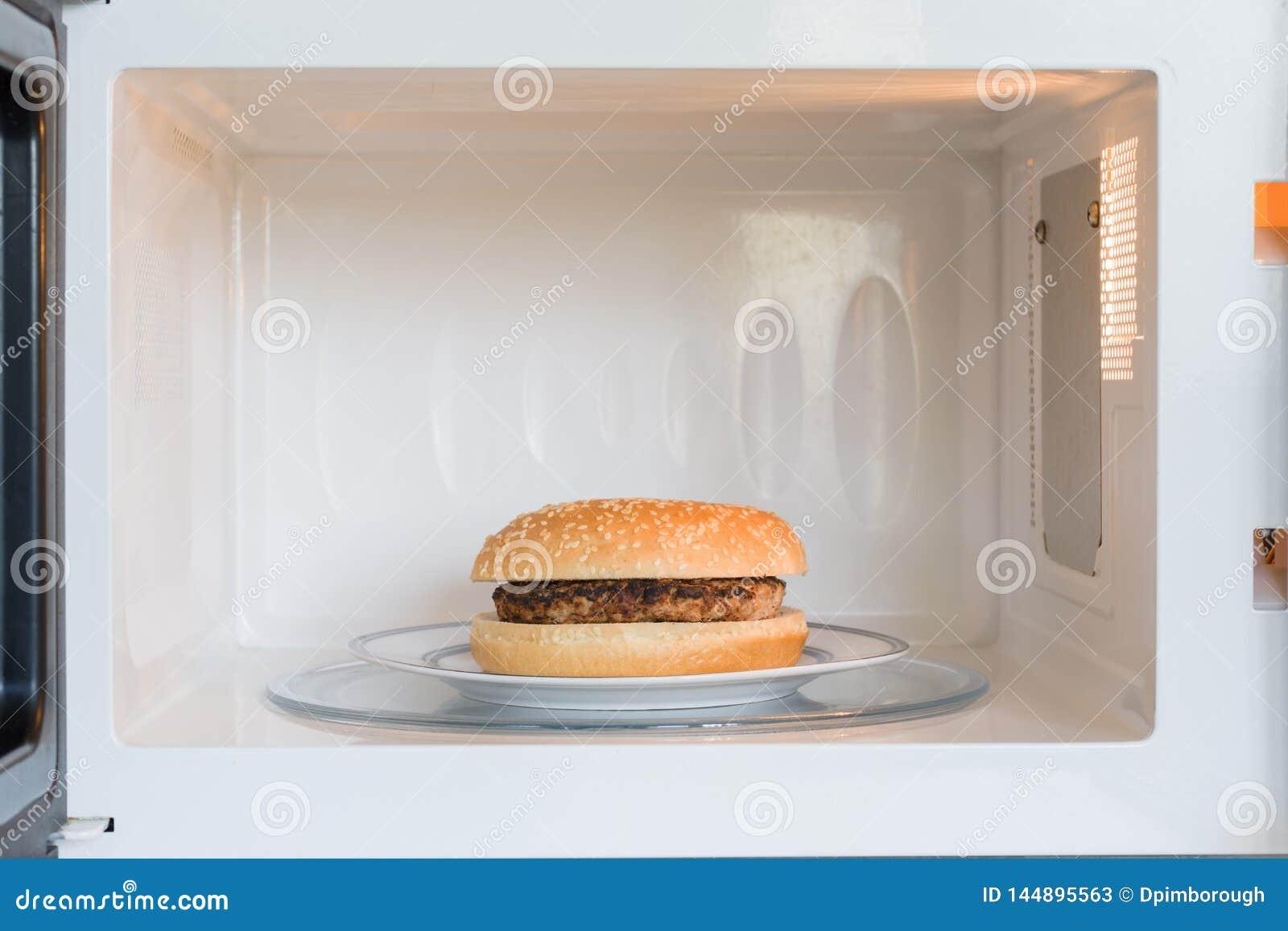 Mikrowellen-Hamburger