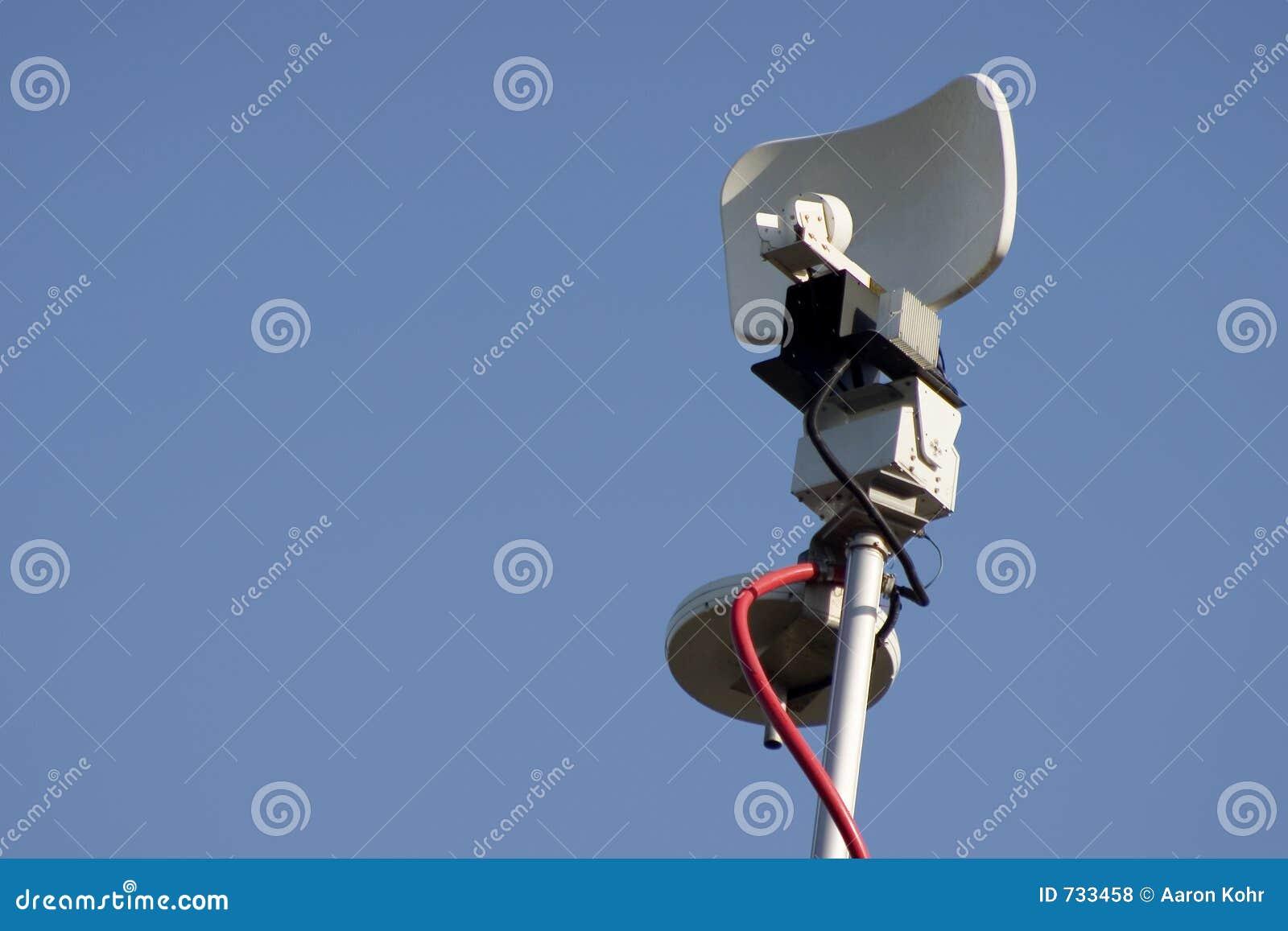 Mikrowellen-Nachrichten-Antenne