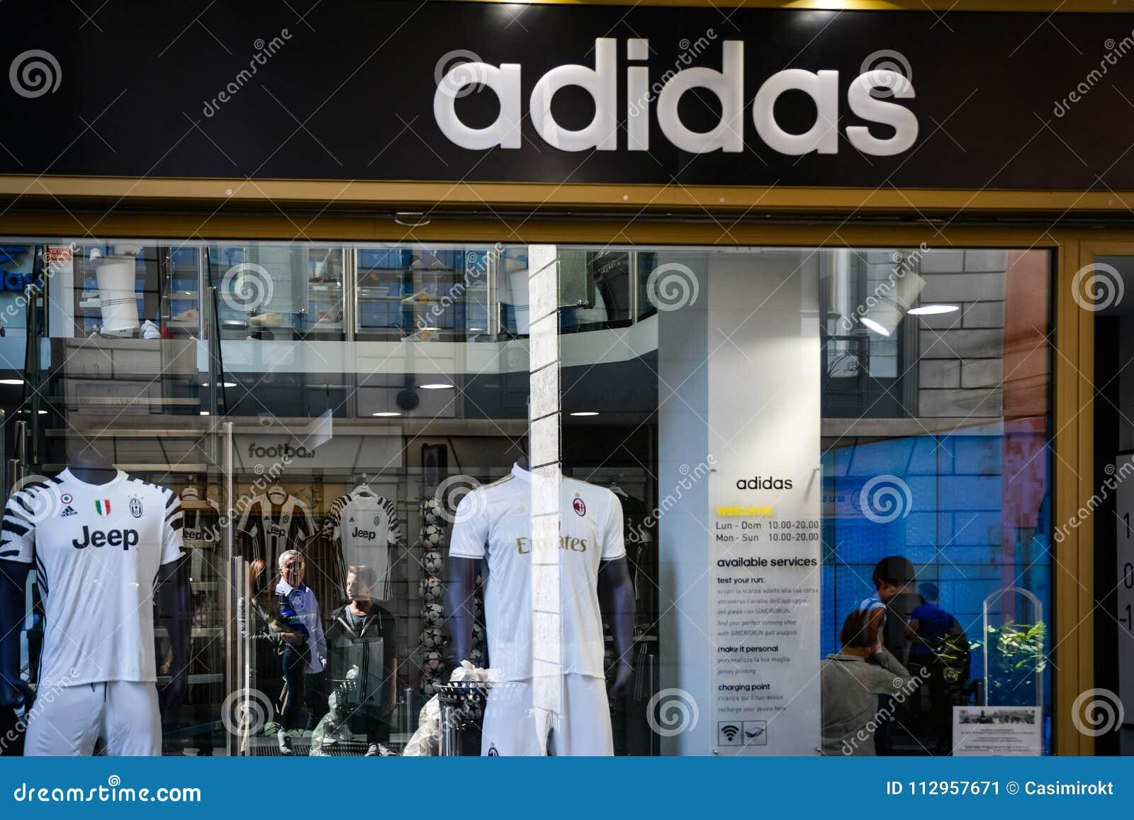 tienda adidas en italia