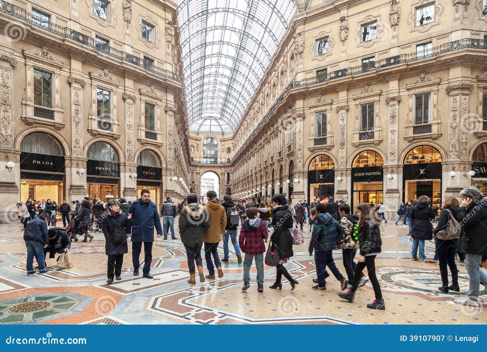 Milaan, Galleria Vittorio Emanuele II