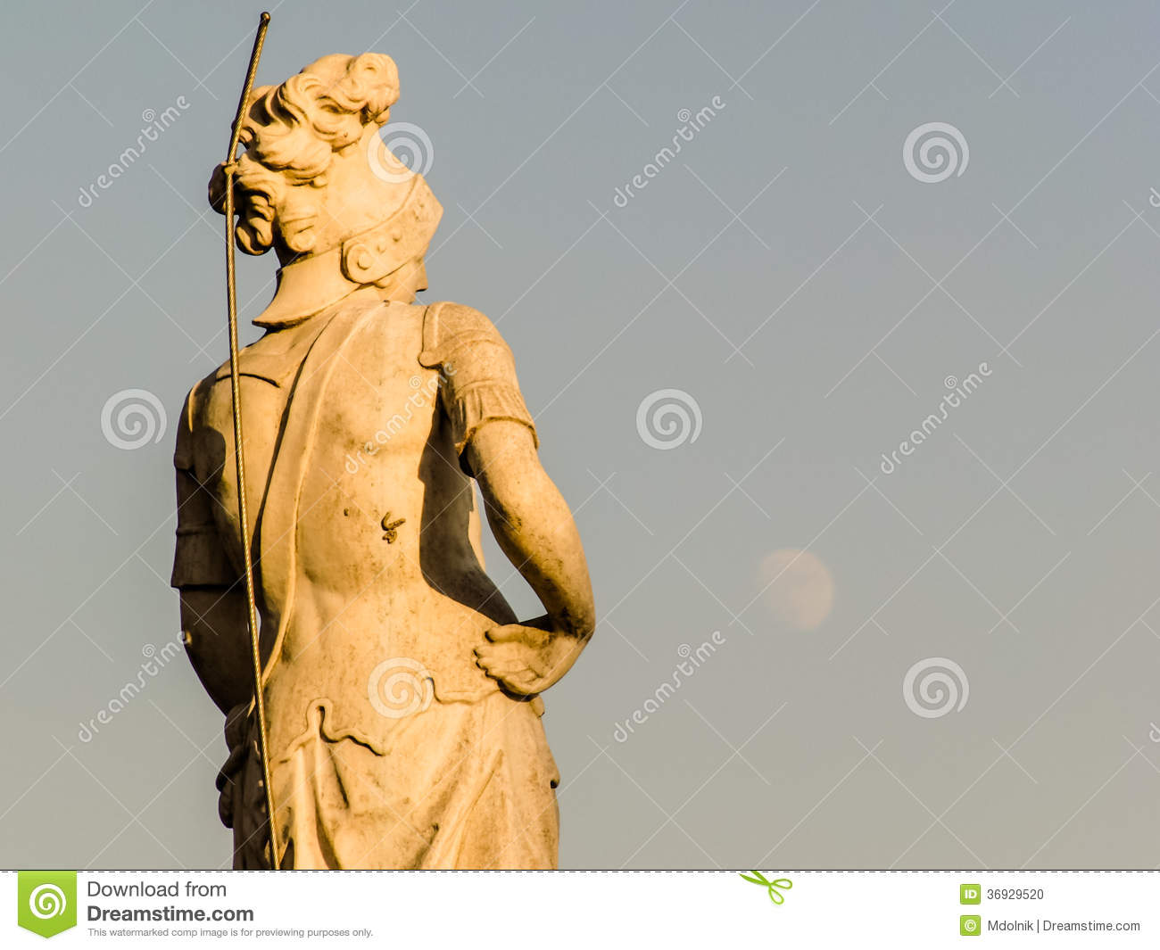 Milan Cathedral Spire Statue