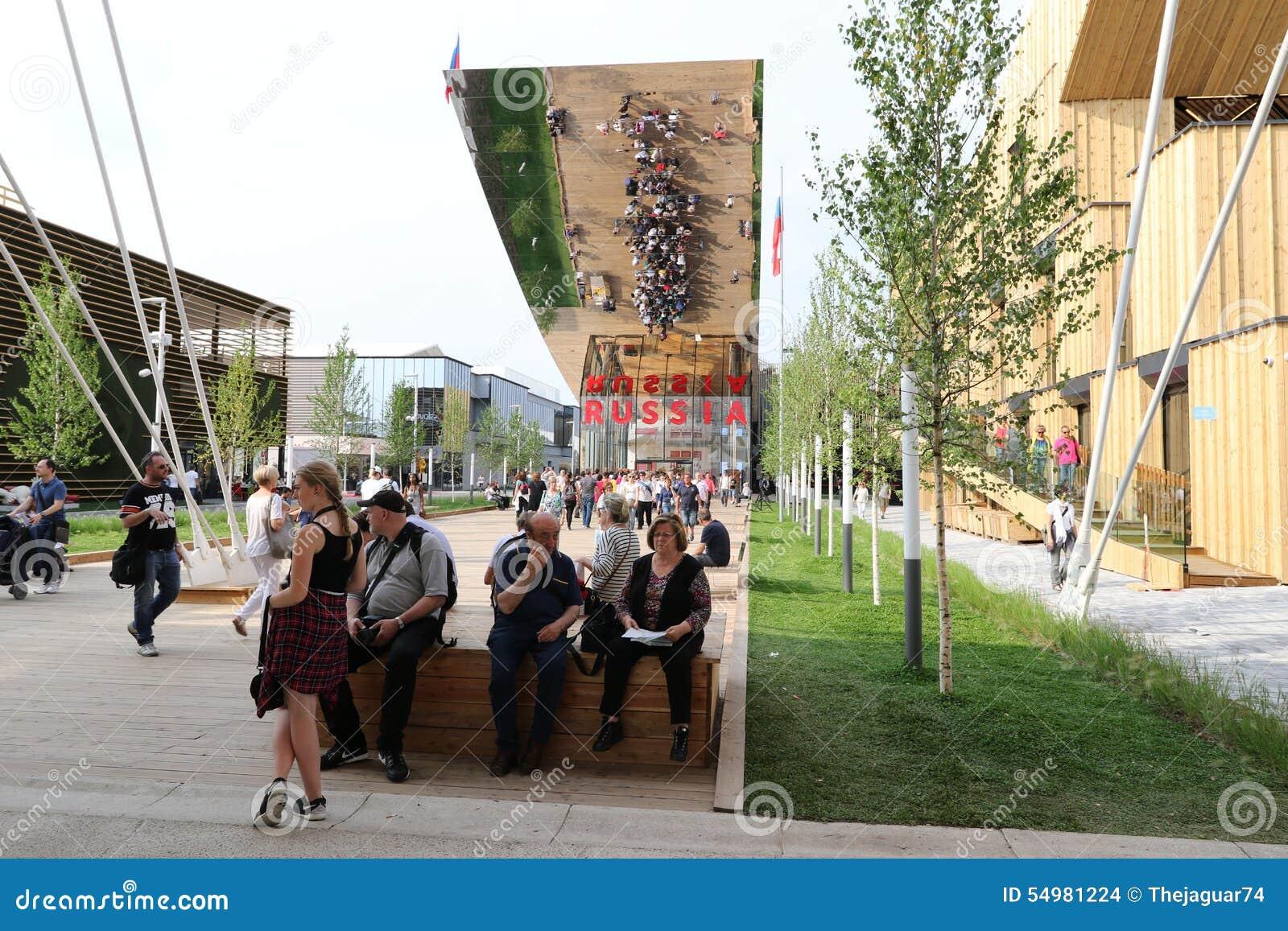 Milan expo, Italien