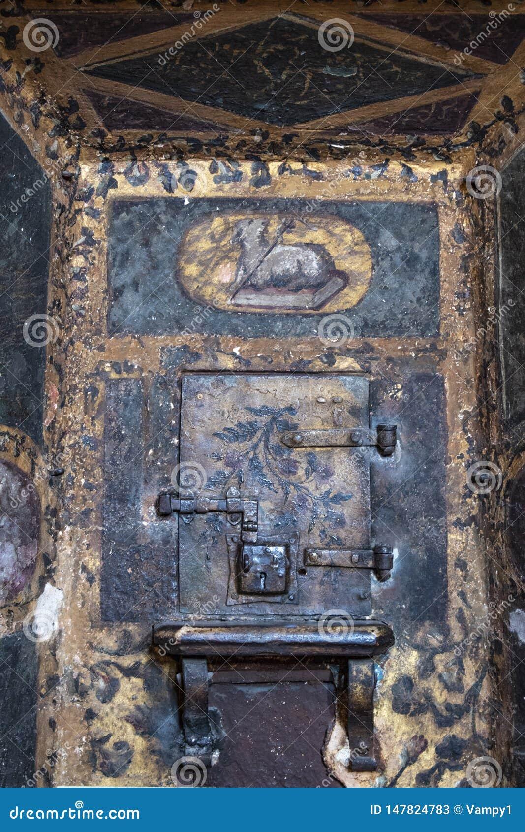 Milan, Italy, Europe, San Maurizio al Monastero Maggiore, church, the Sistine Chapel of Milan, art, fresco, monastery, convent