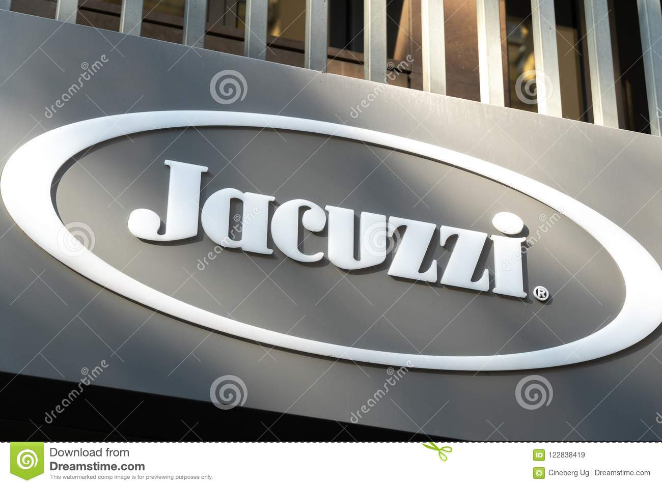 Jacuzzi store exterior editorial stock image. Image of nobody ...