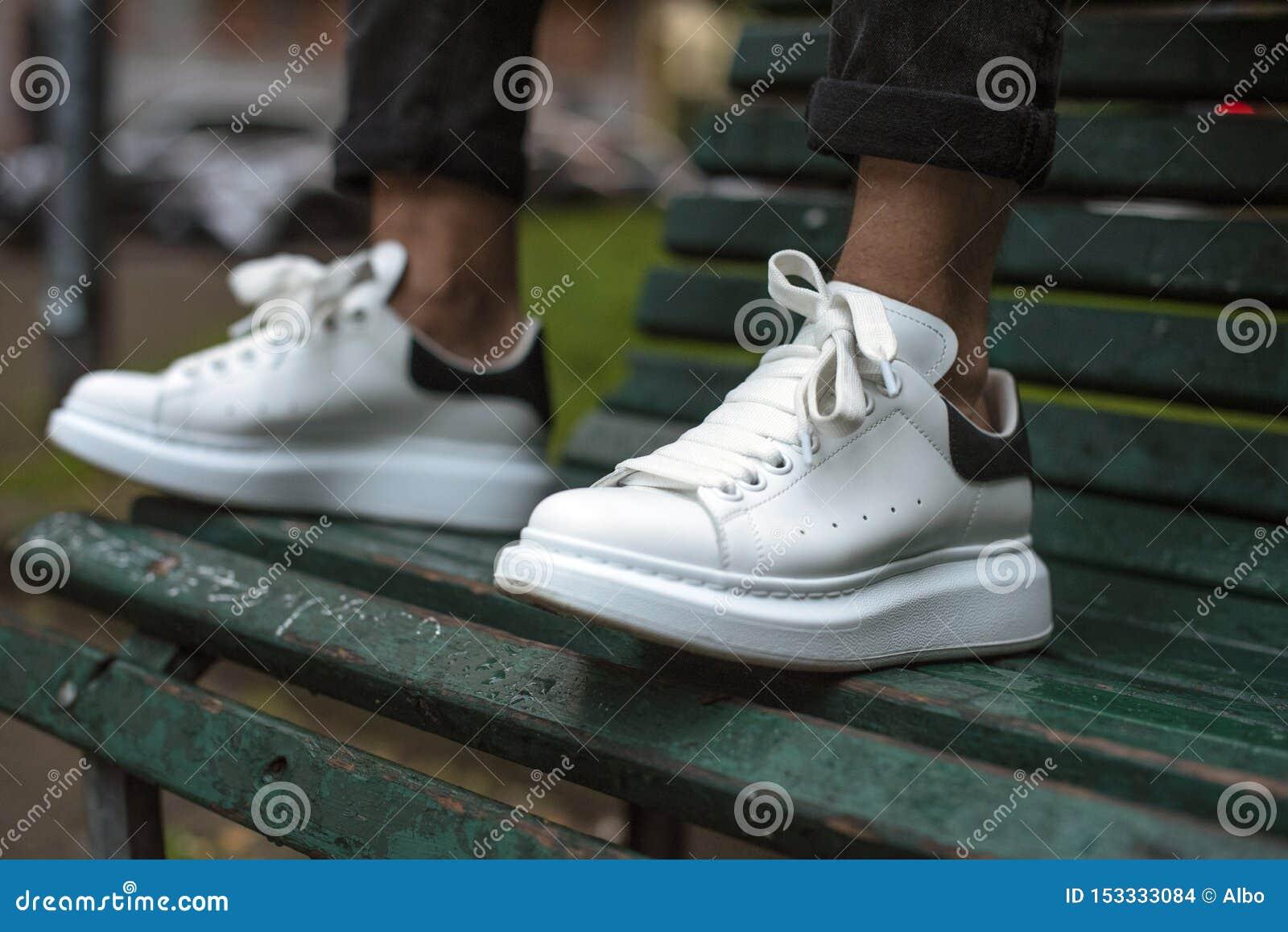 Alexander McQueen sneakers editorial