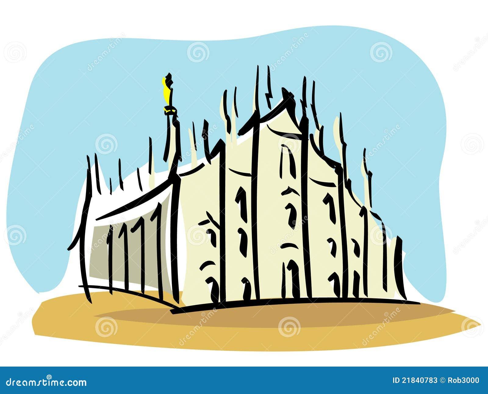 Milan (le Duomo de Milan)