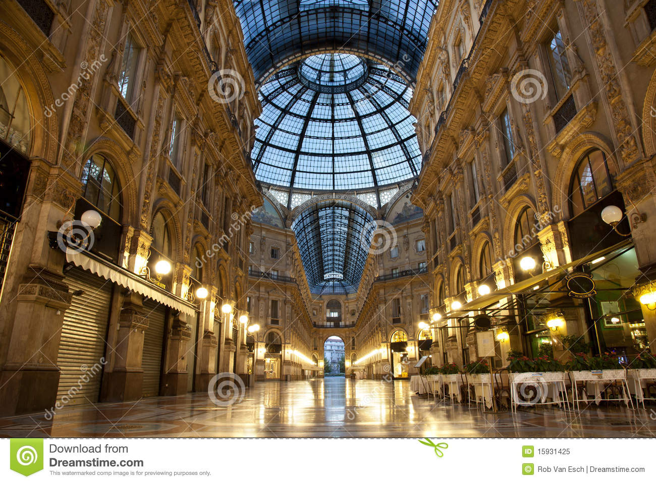 Milan luxuous shopping mall royalty free stock photo for Milano shop