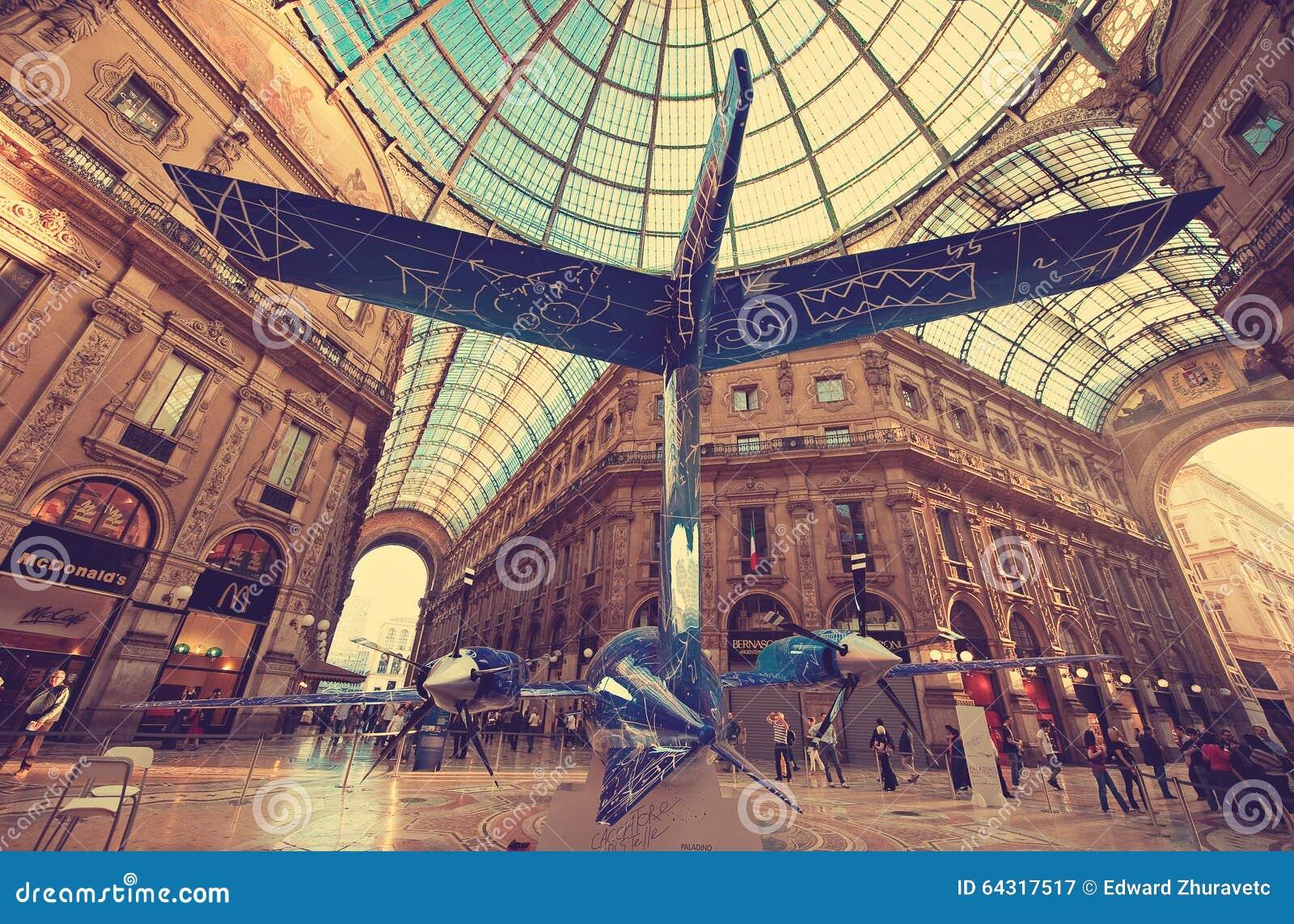 Milan Włochy Główna galeria