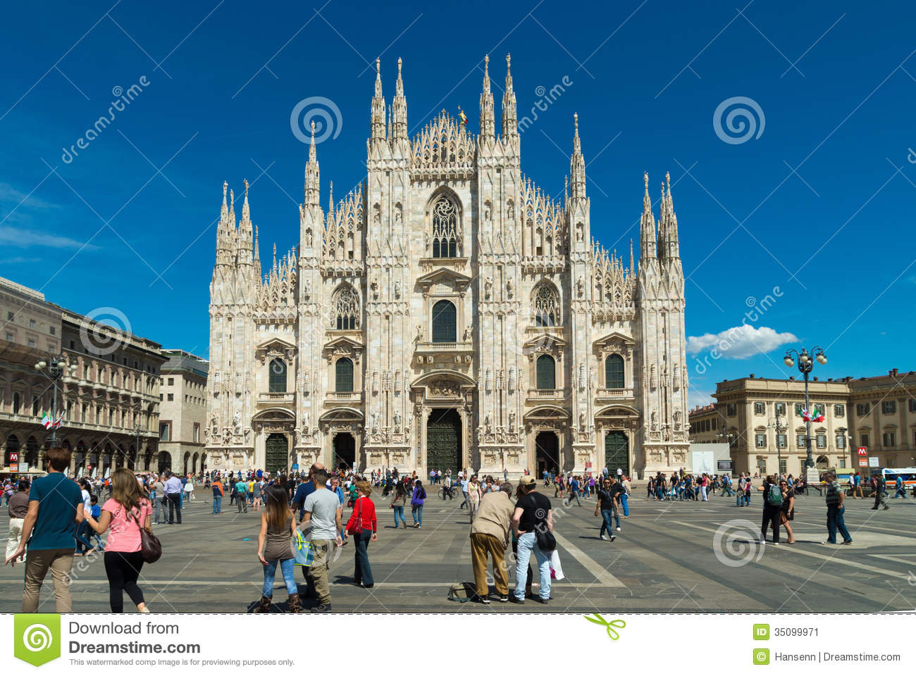 Milano Cathedral Editorial Photo Image 35099971