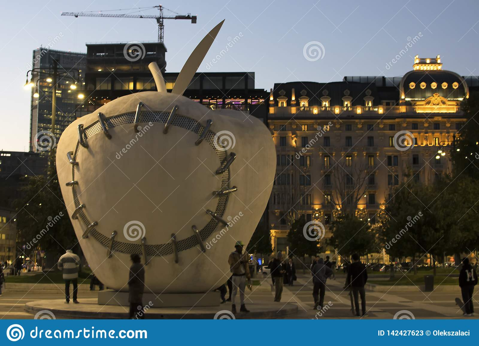Milano på natten