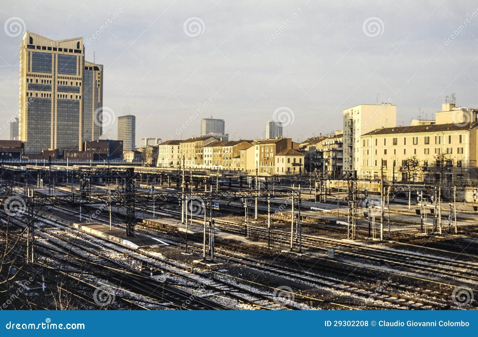 Milano stazione di porta garibaldi fotografia stock - Stazione porta garibaldi mappa ...