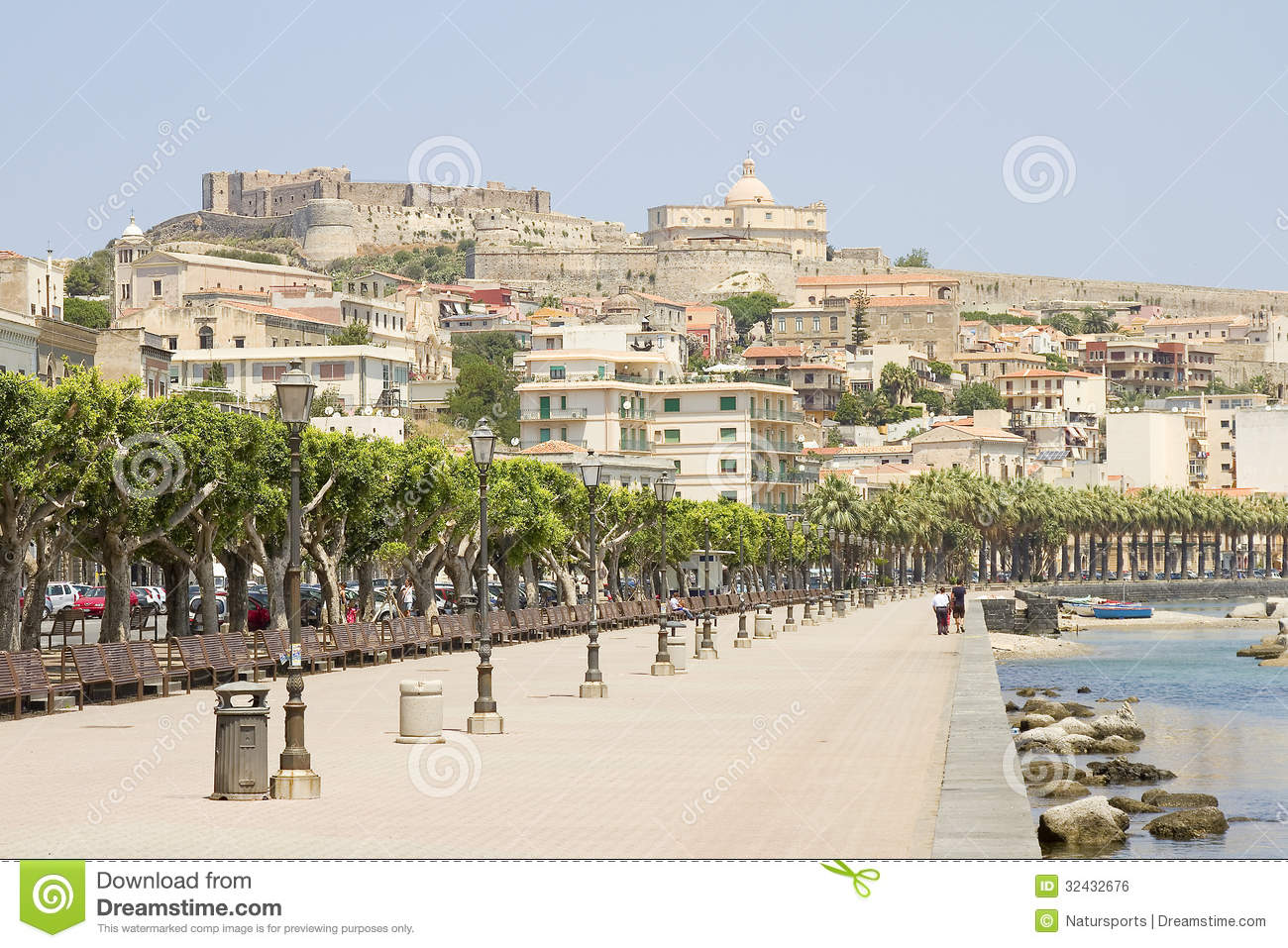 Milazzo Italy  City pictures : Milazzo, Italy Royalty Free Stock Image Image: 32432676