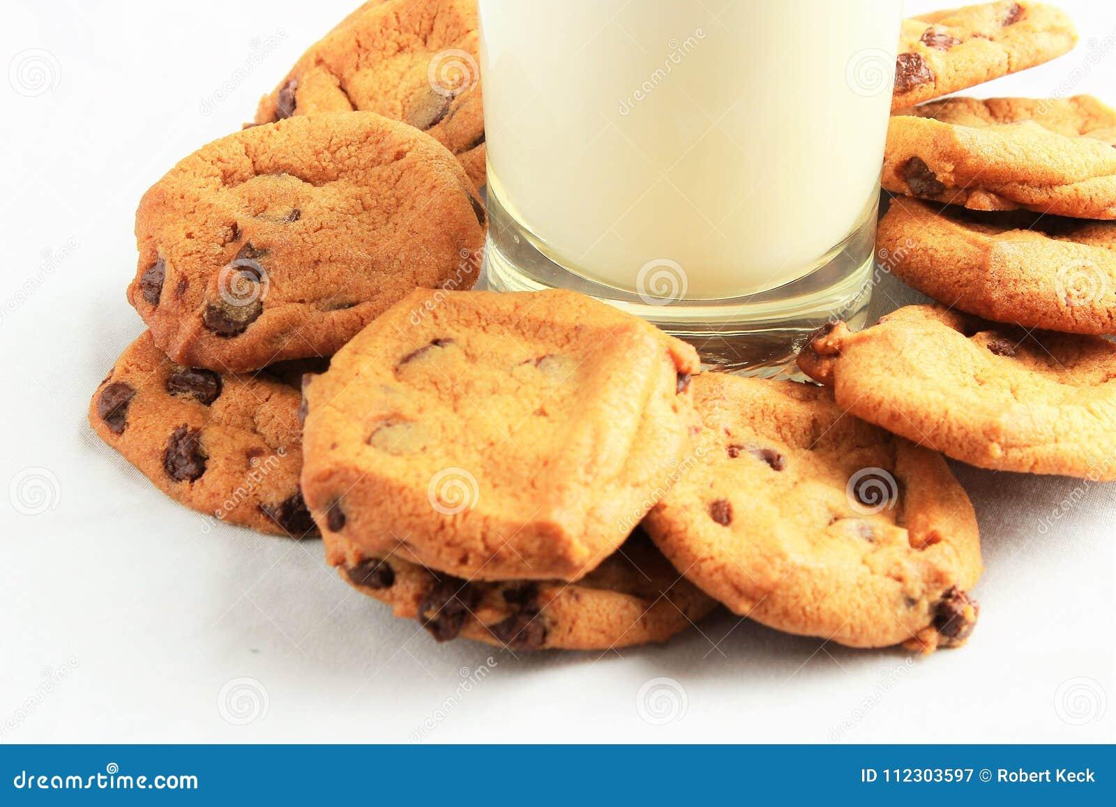 Milch ` N Schokolade Chip Cookies