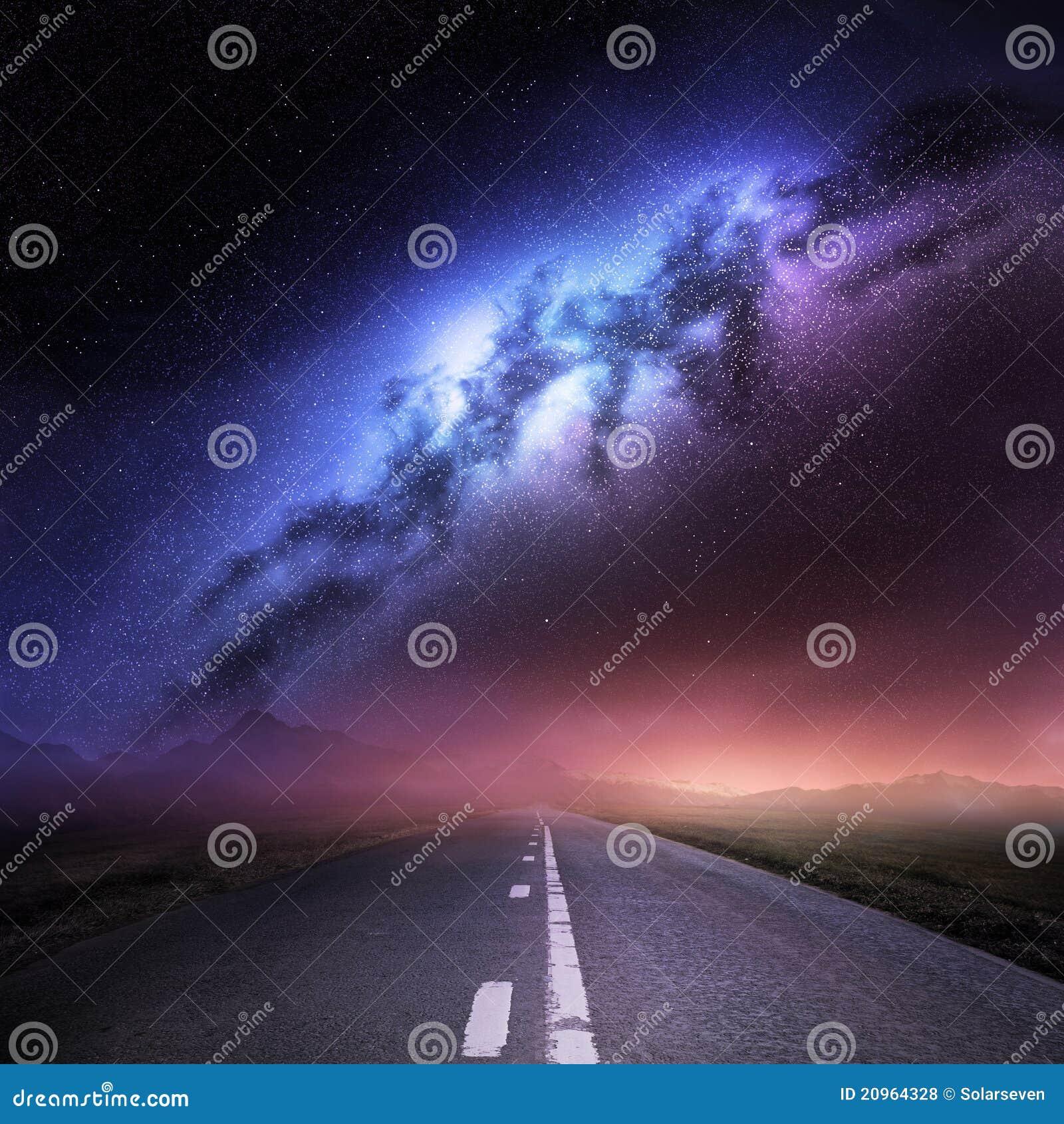 Milchstraße-Galaxie von der Erde