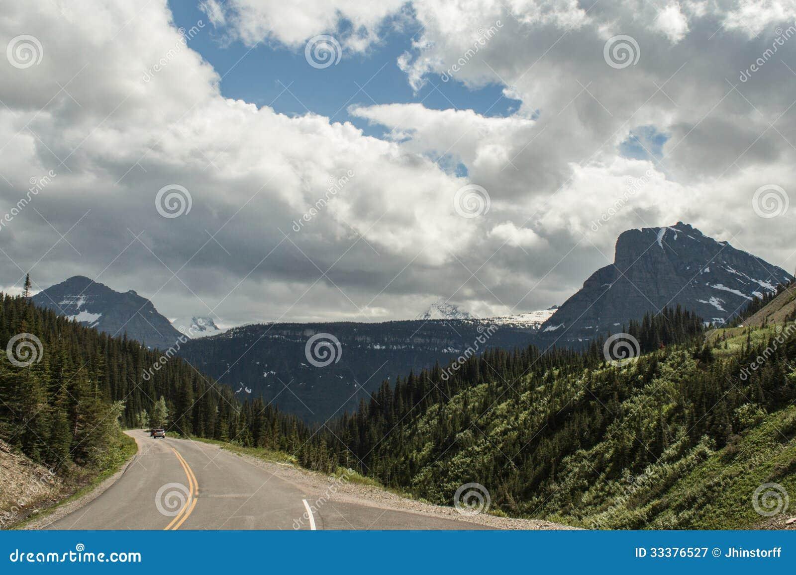 Milde Berg, Montana