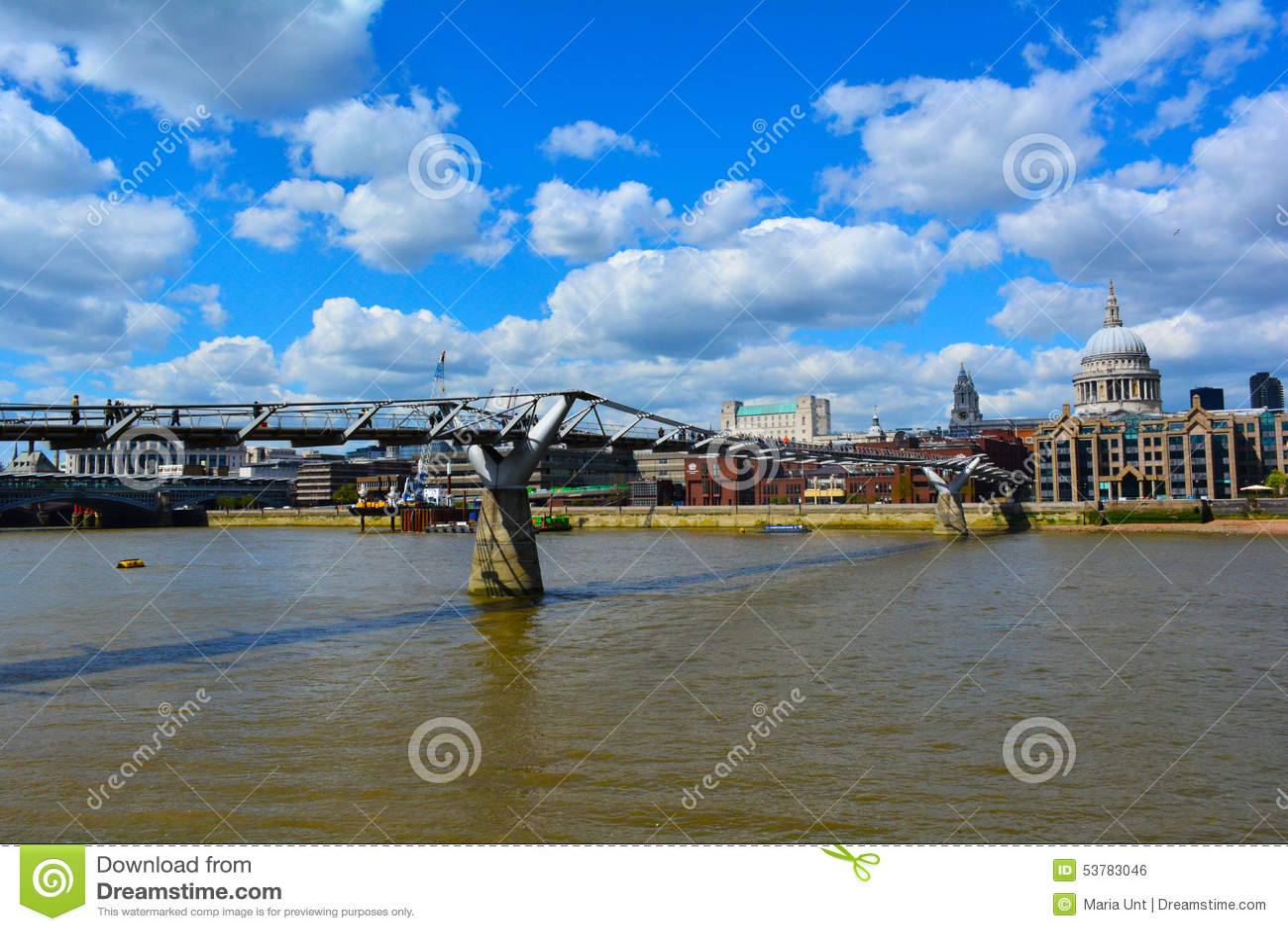 Milenium St Paul i mosta katedra, Londyn, Zjednoczone Królestwo