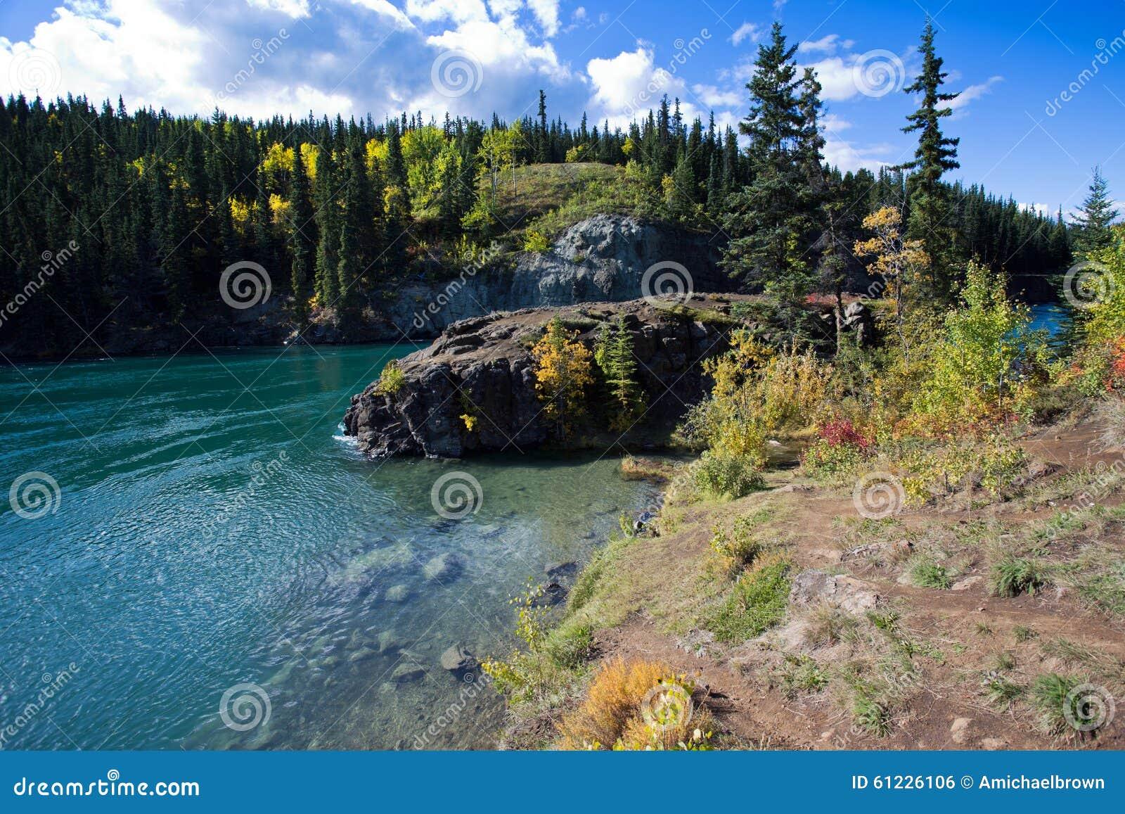 Miles Canyon, Yukon River, Whitehorse, Yukon Territories, Canada