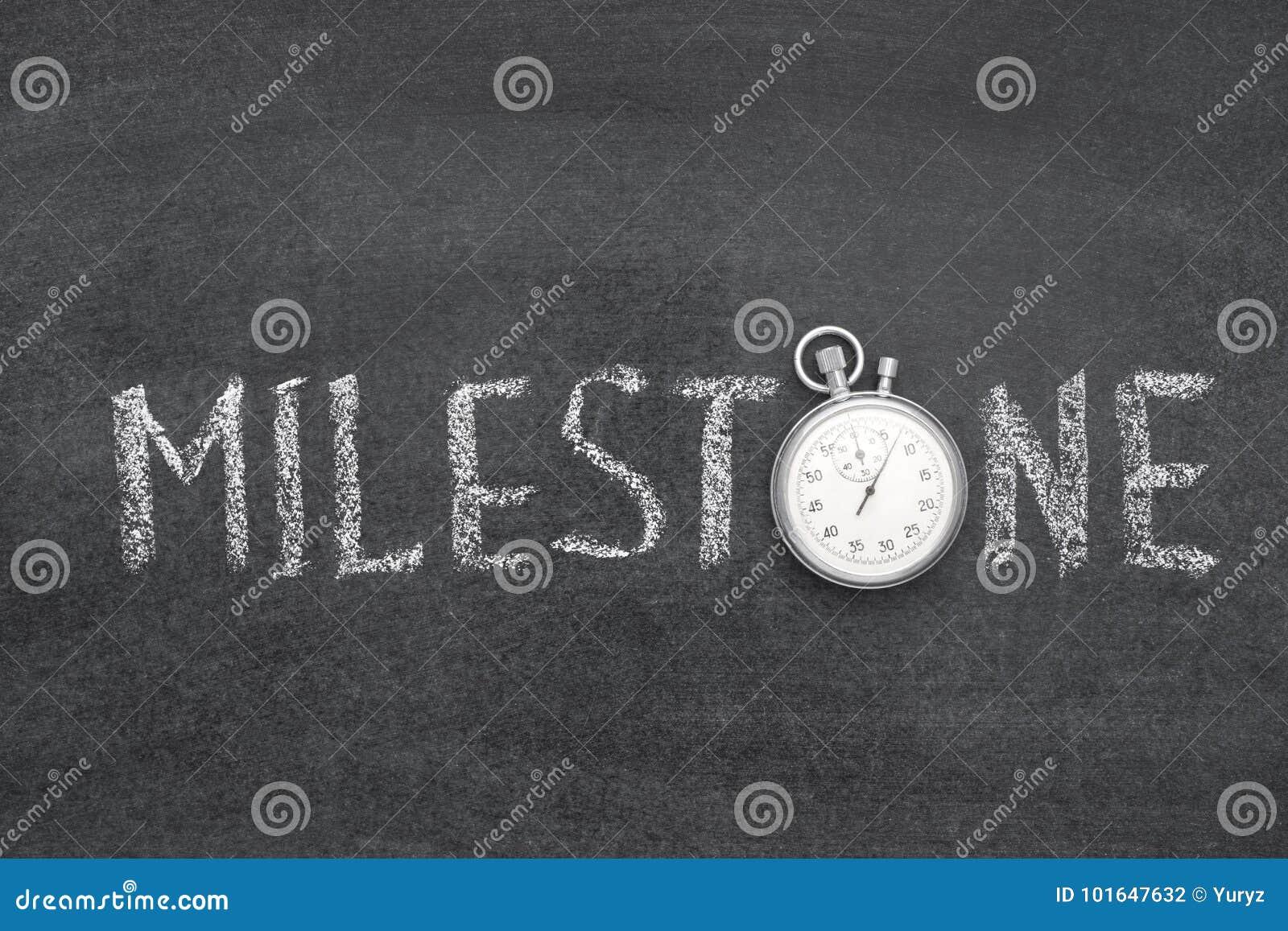Milestone word watch