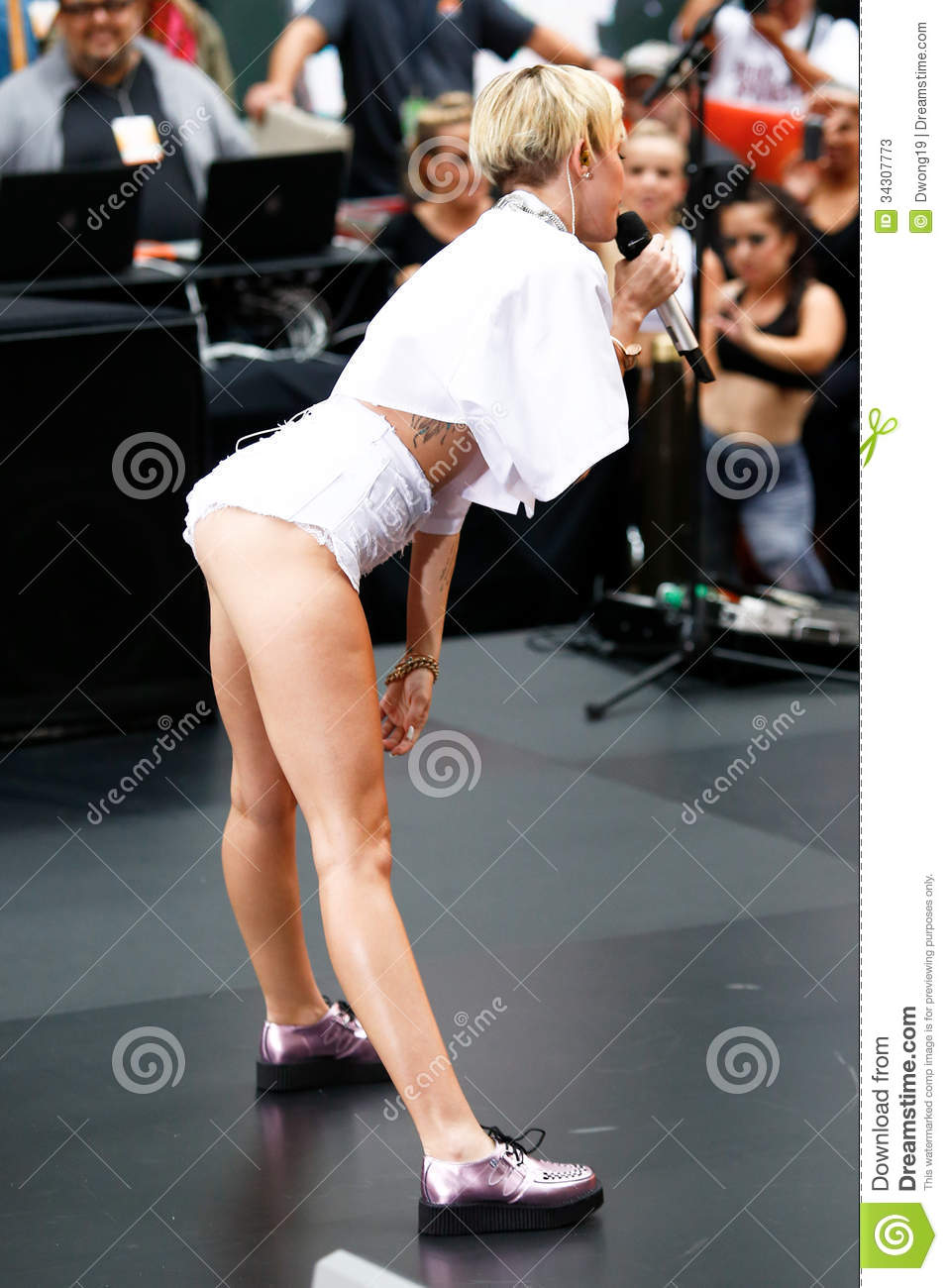 Miley Cyrus Editorial Stock Photo Image 34307773