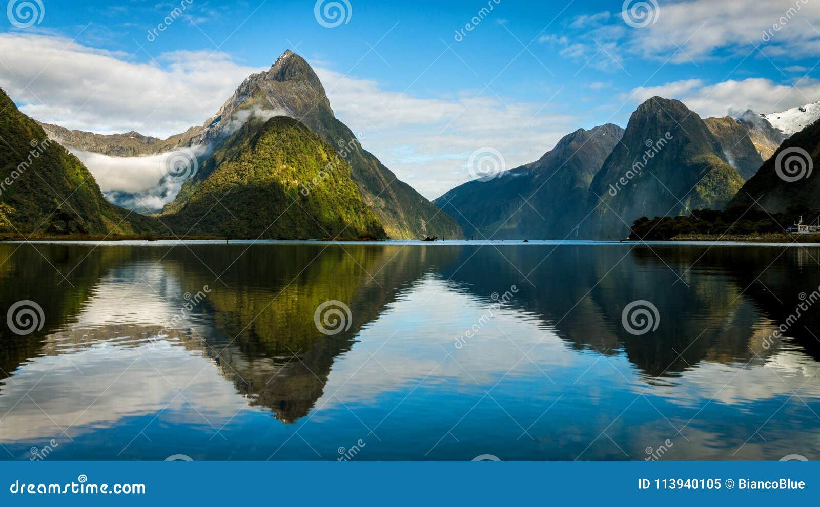 Milford Sound в Новой Зеландии