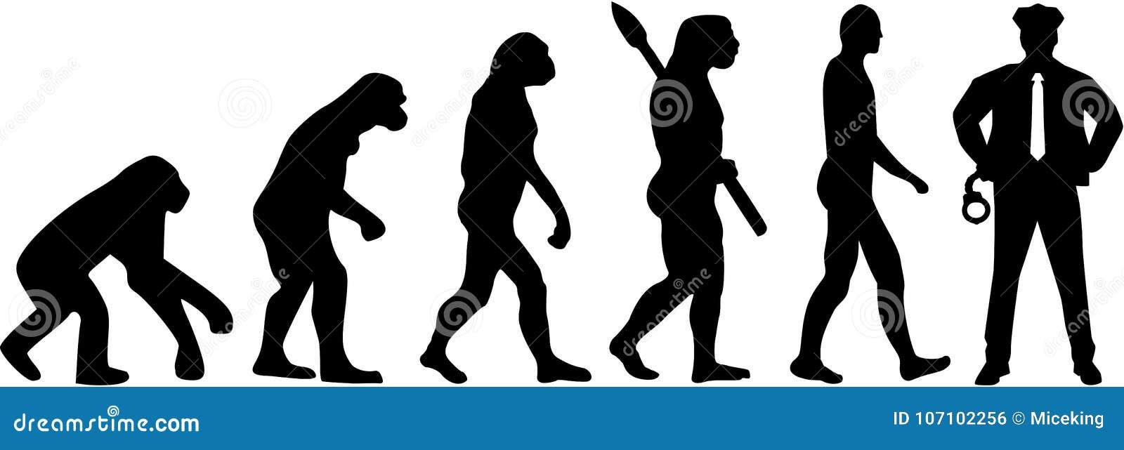 Milicyjny ewolucja wektor